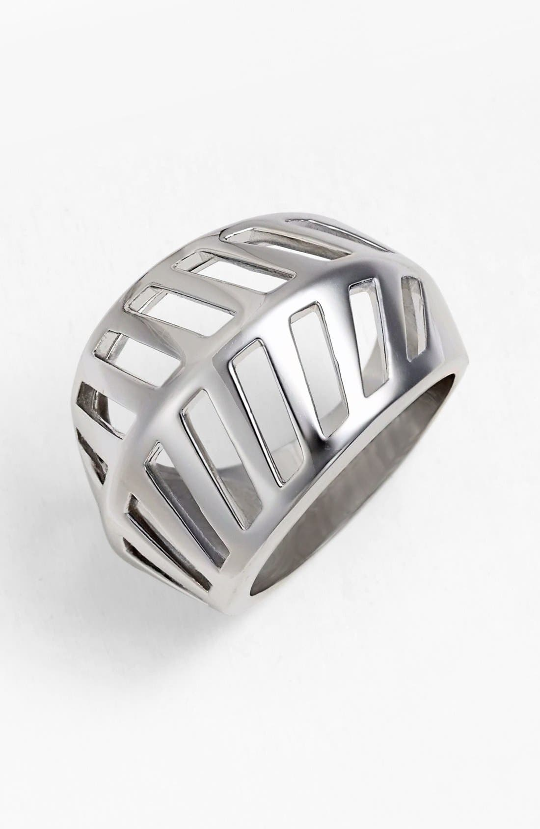 Alternate Image 1 Selected - Rebecca Minkoff 'Sliced Diamonds' Open Ring