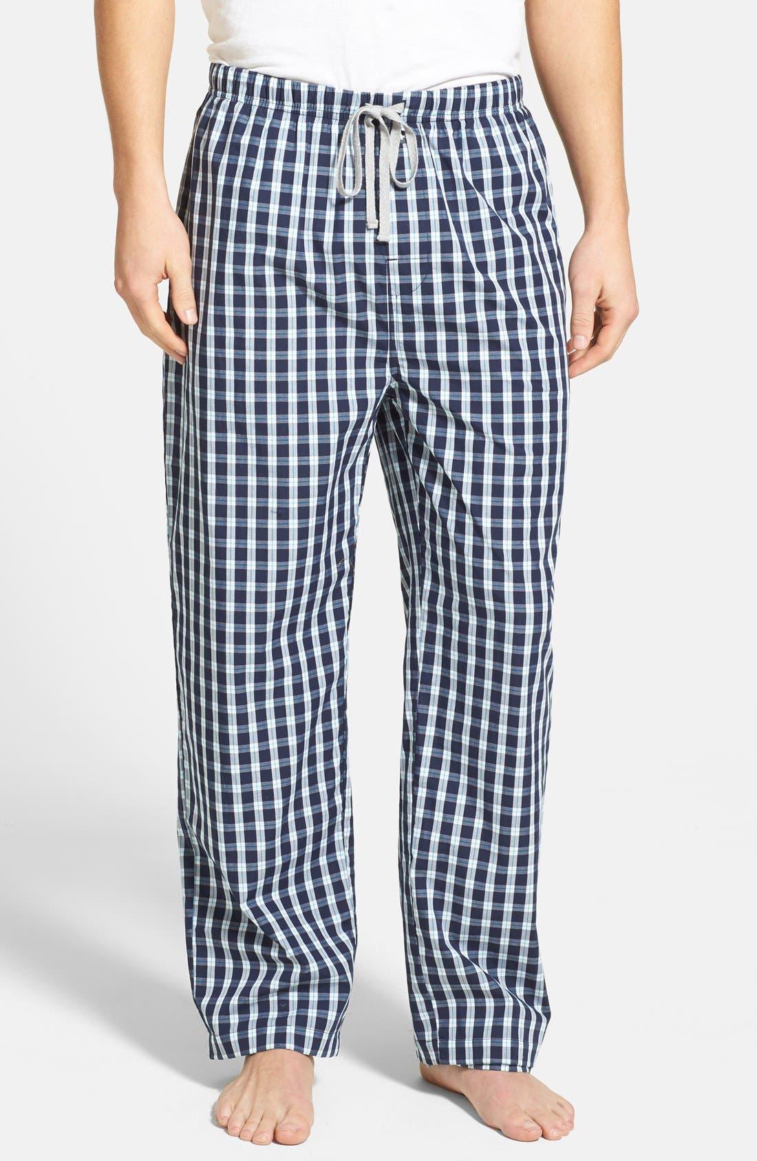Alternate Image 1 Selected - Michael Kors Check Lounge Pants