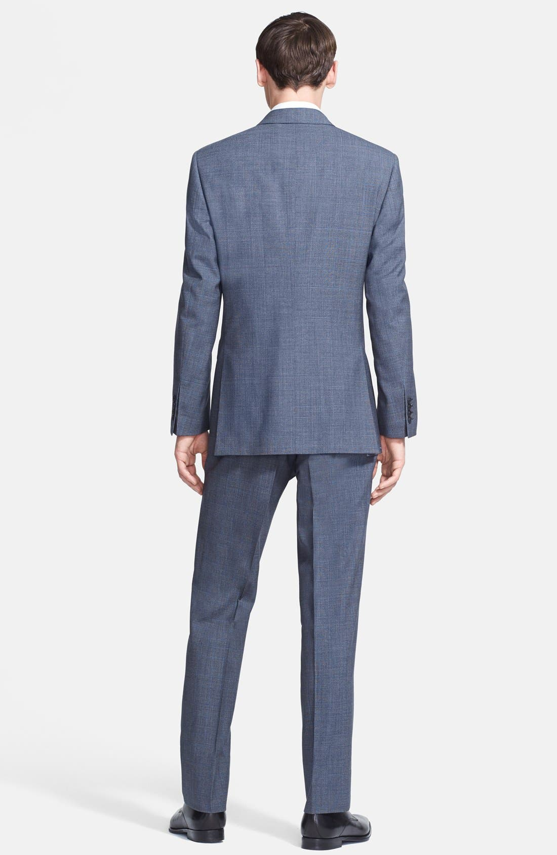 Alternate Image 2  - Burberry London 'Canbury' Glen Plaid Virgin Wool Suit