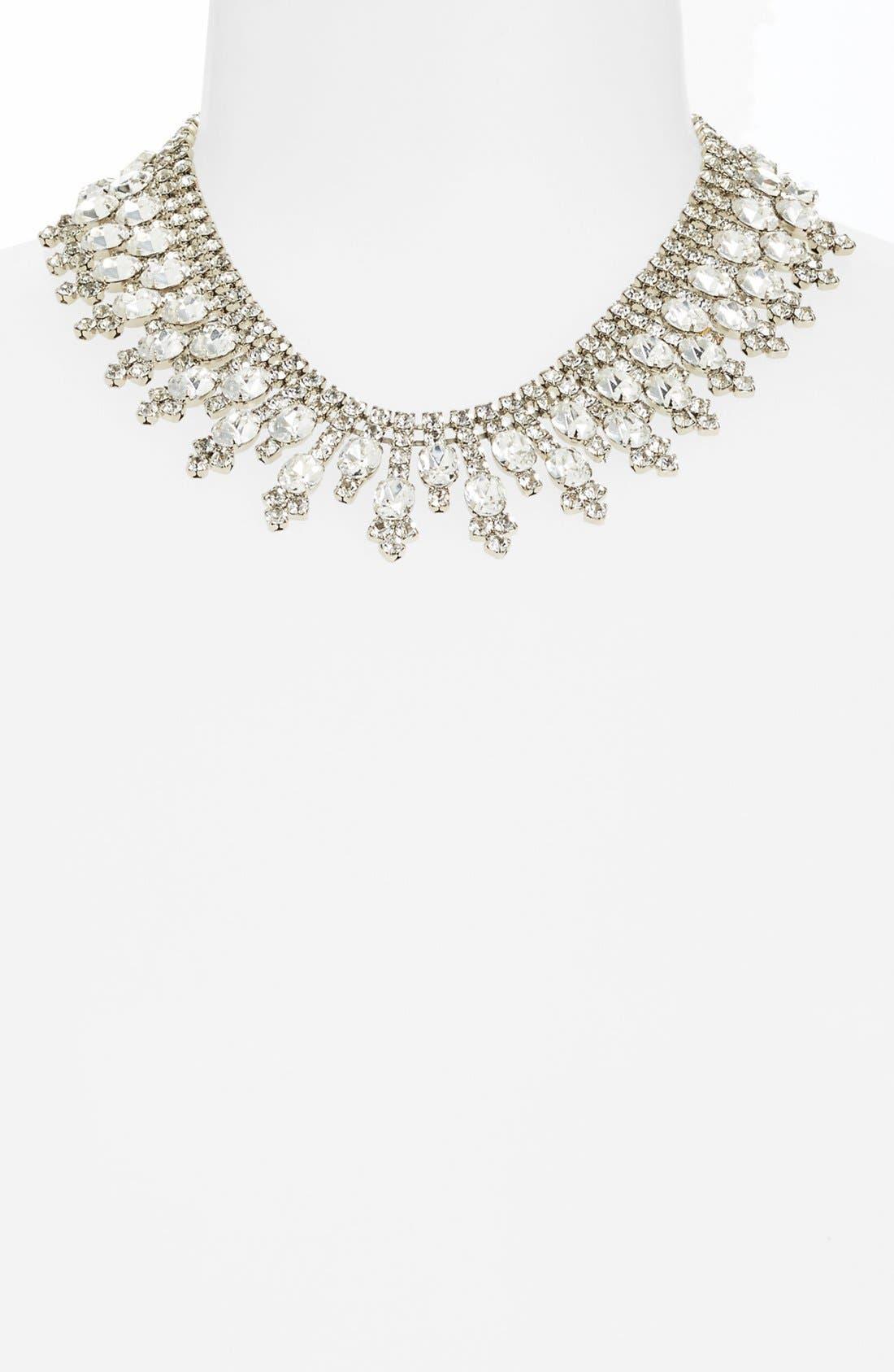 Alternate Image 2  - Nordstrom 'Occasion' Spike Crystal Collar Necklace