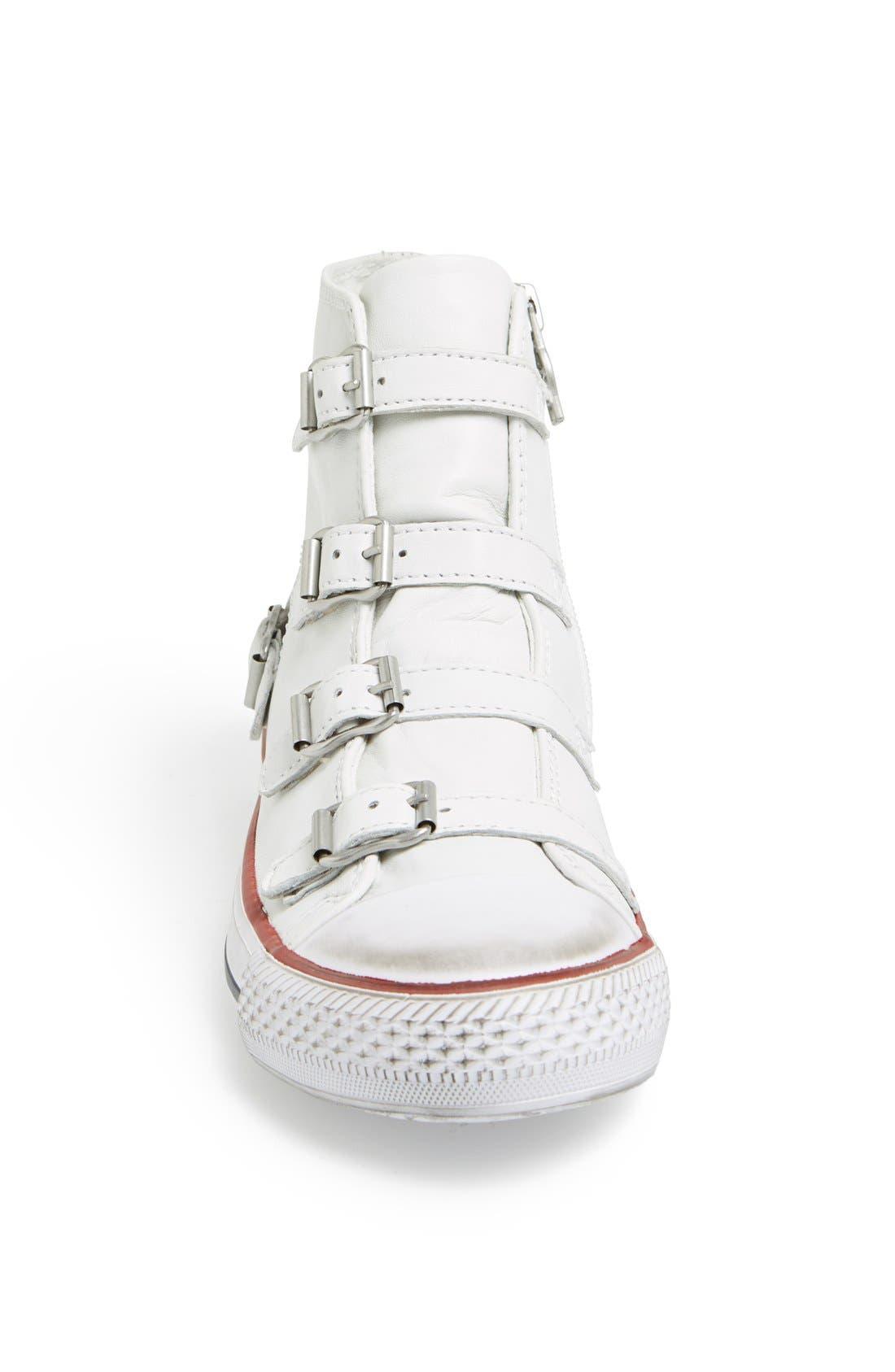 'Virgin' Sneaker,                             Alternate thumbnail 3, color,                             White