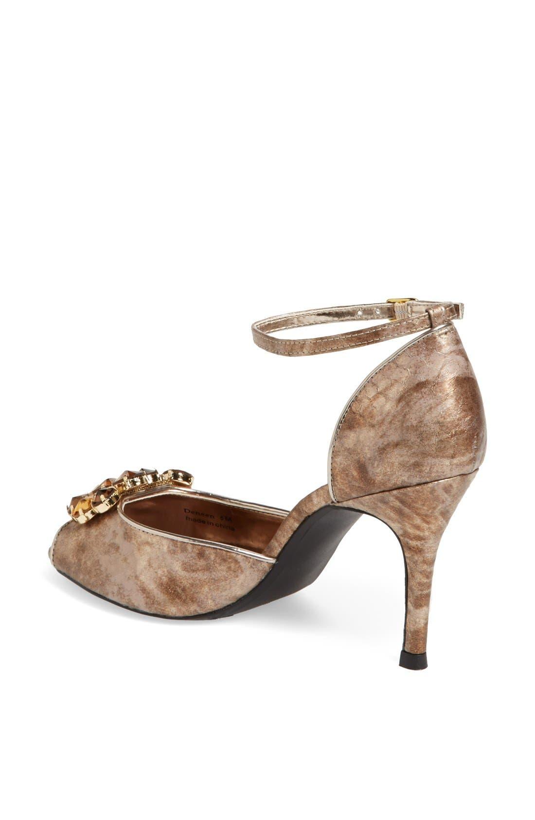 Alternate Image 2  - J. Reneé 'Deneen' Embellished Ankle Strap Sandal