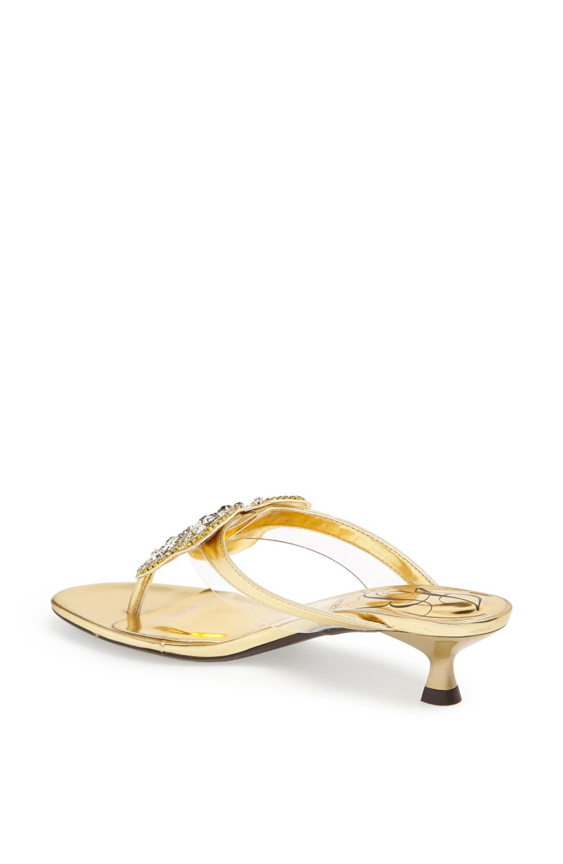 Alternate Image 2  - J. Reneé 'Imbrie' Embellished Thong Sandal