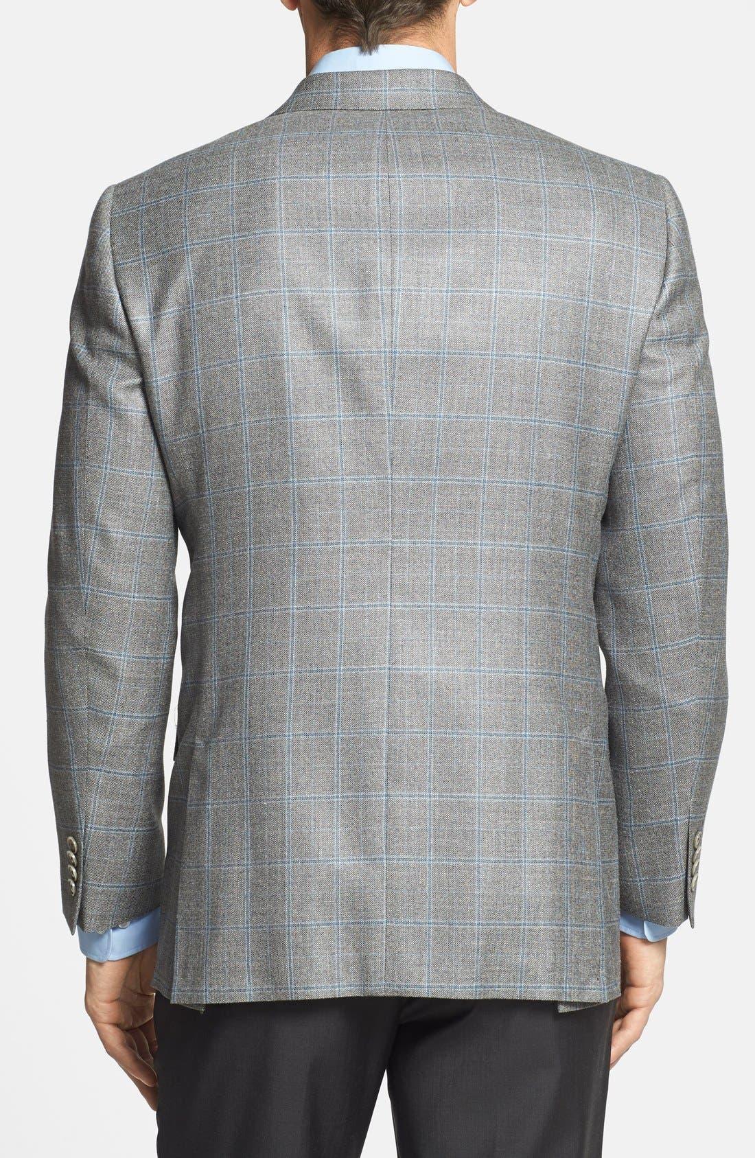 Alternate Image 2  - Hart Schaffner Marx 'New York' Classic Fit Windowpane Sportcoat