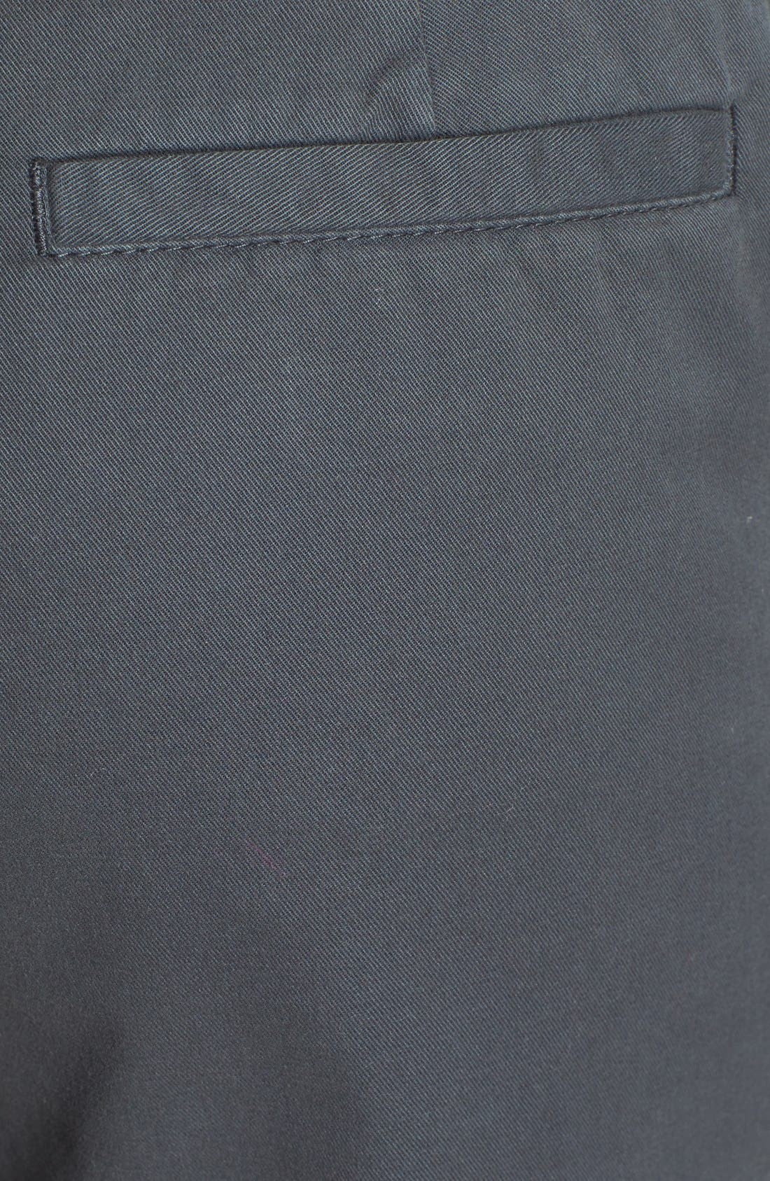 Alternate Image 3  - Caslon® Clean Front Nine-Inch Shorts (Regular & Petite)