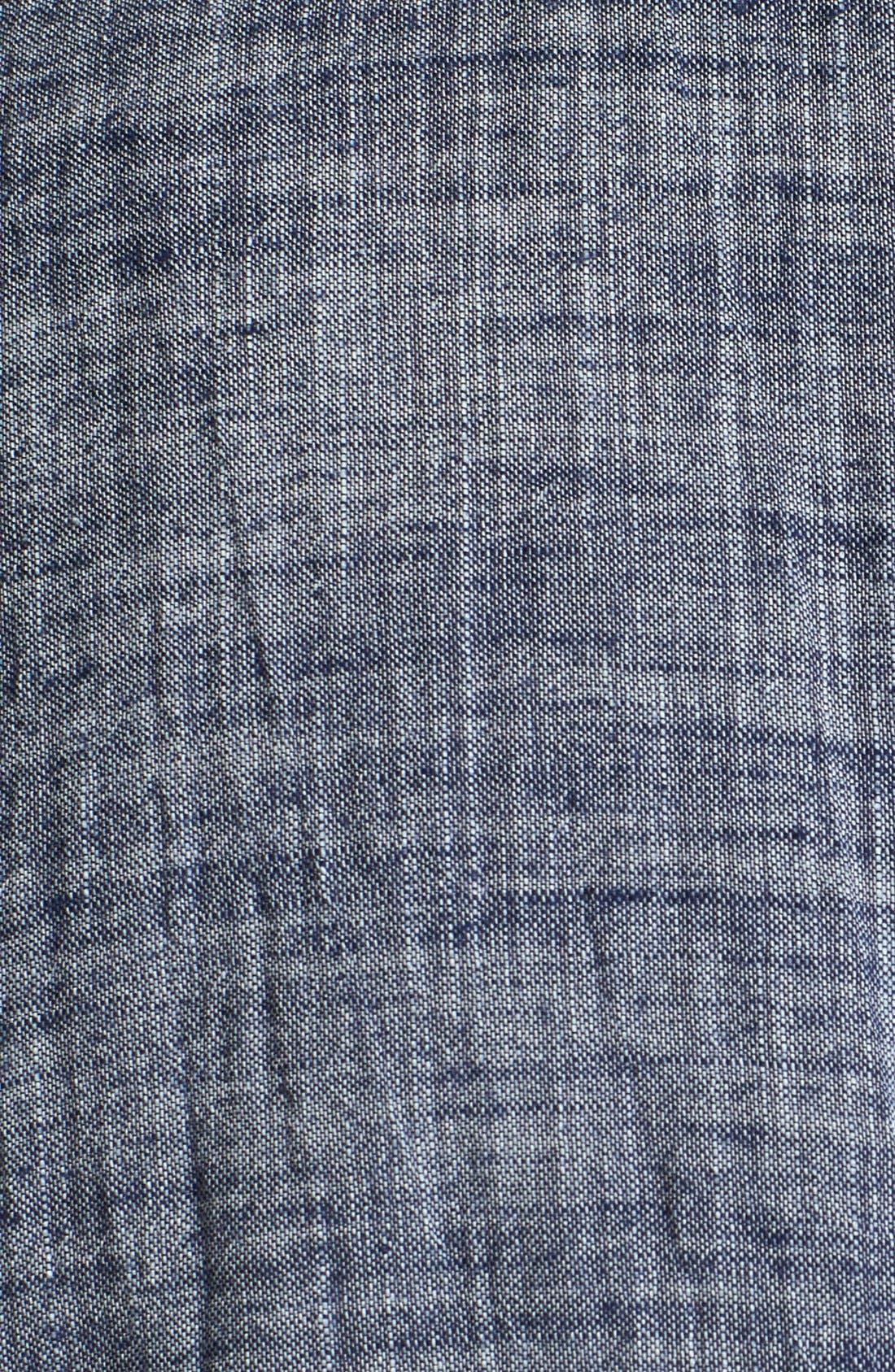 Alternate Image 2  - Billy Reid 'Donelson' Standard Fit Short Sleeve Chambray Shirt