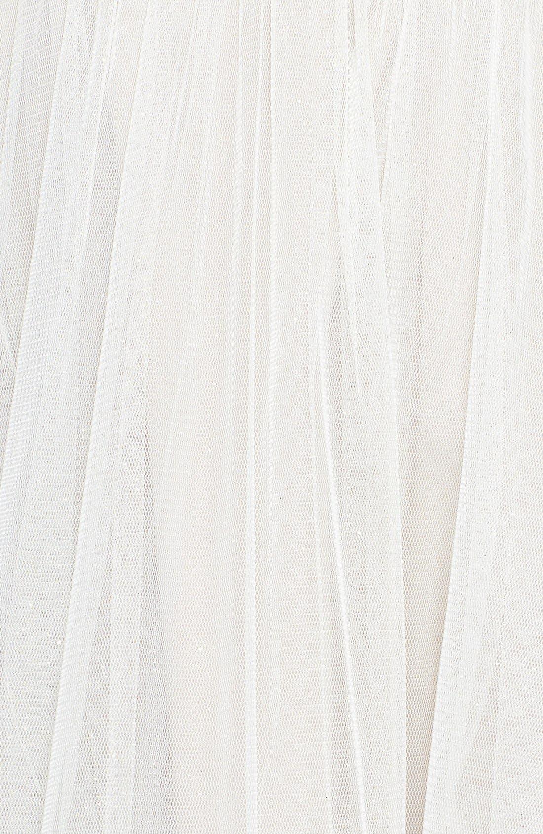Alternate Image 3  - Betsey Johnson Dot Print Lace Fit & Flare Dress