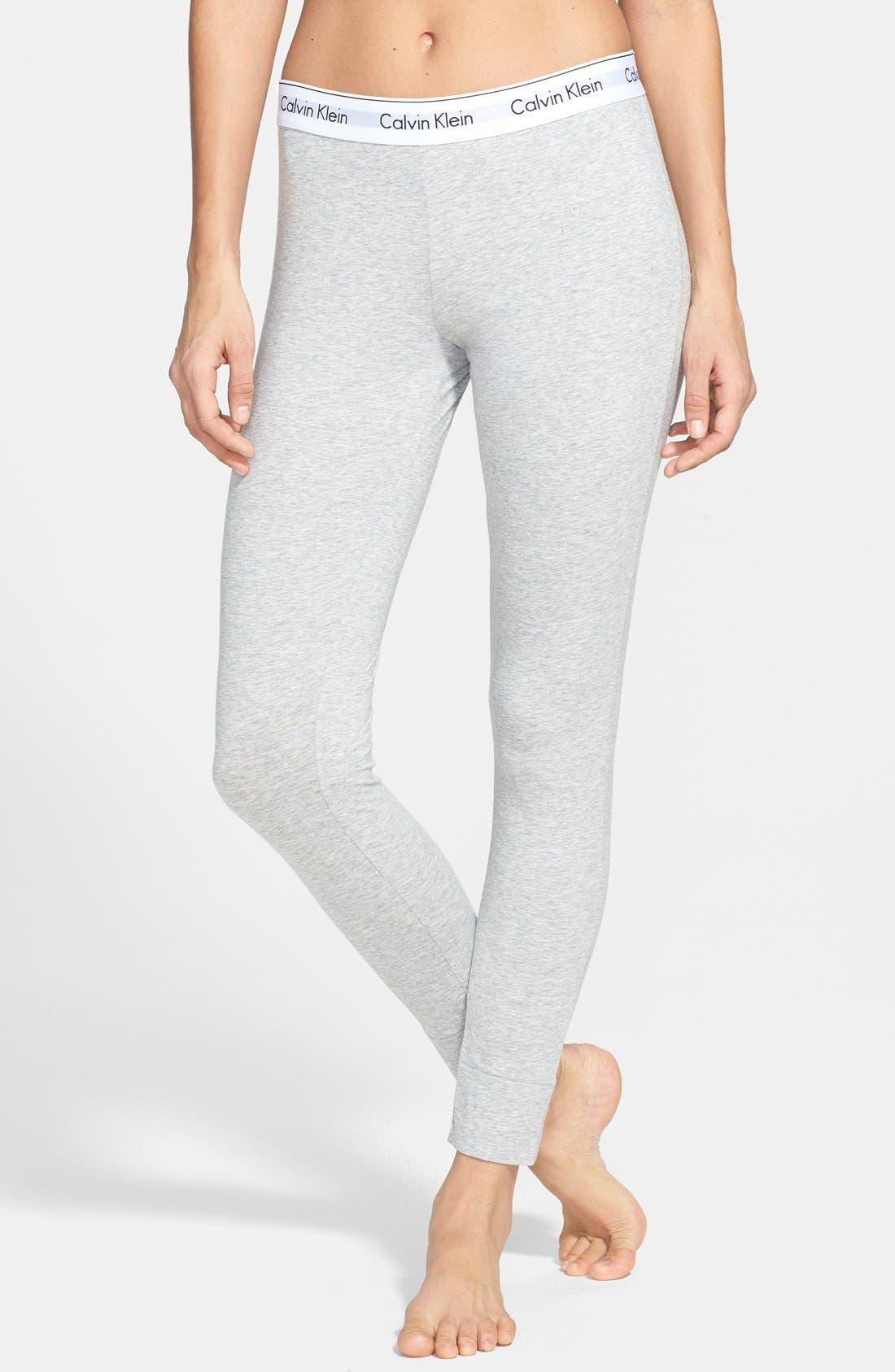 Alternate Image 1 Selected - Calvin Klein Modern Cotton Lounge Pants