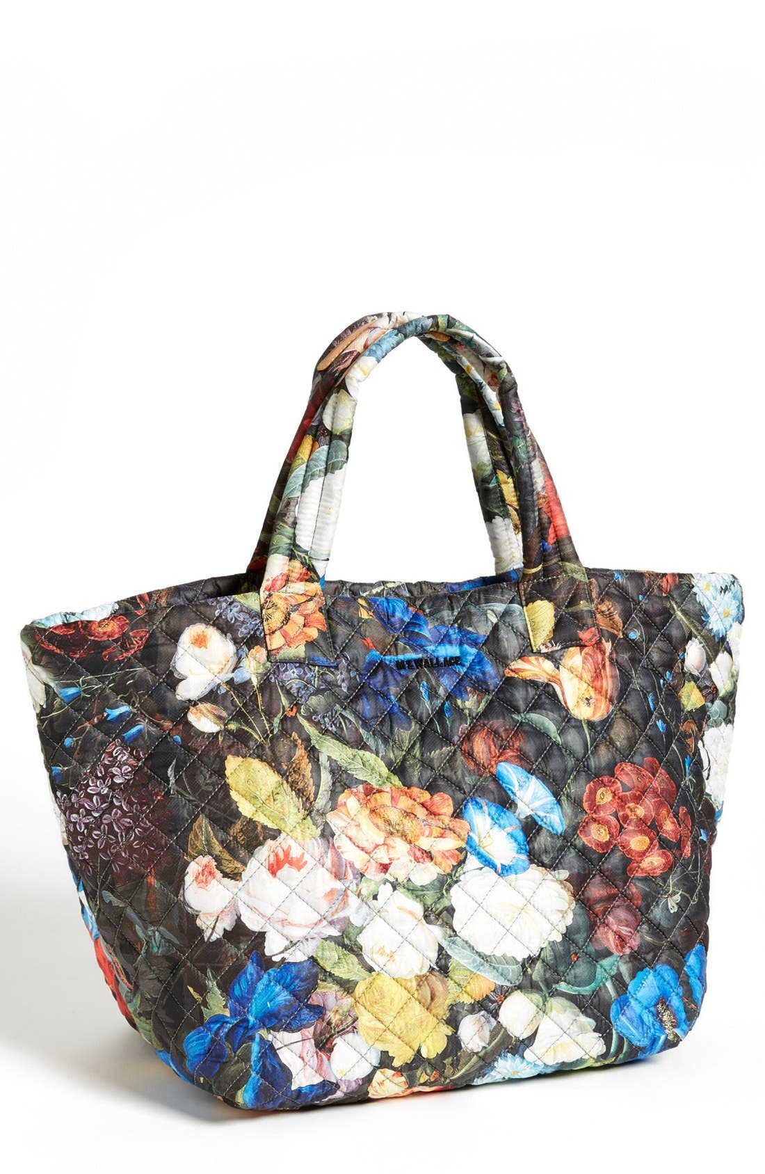 Alternate Image 1 Selected - MZ Wallace 'Medium Floral Oxford - Metro' Quilted Tote (Nordstrom Exclusive)