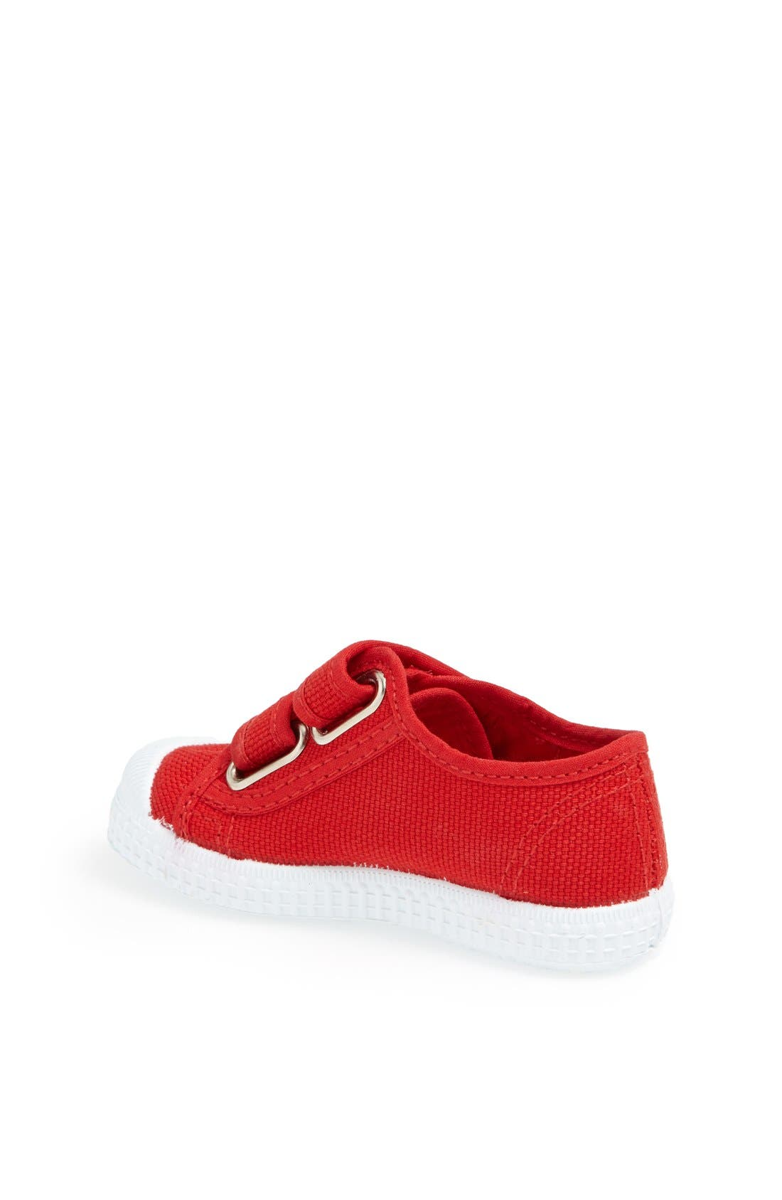 Canvas Sneaker,                             Alternate thumbnail 2, color,                             Red