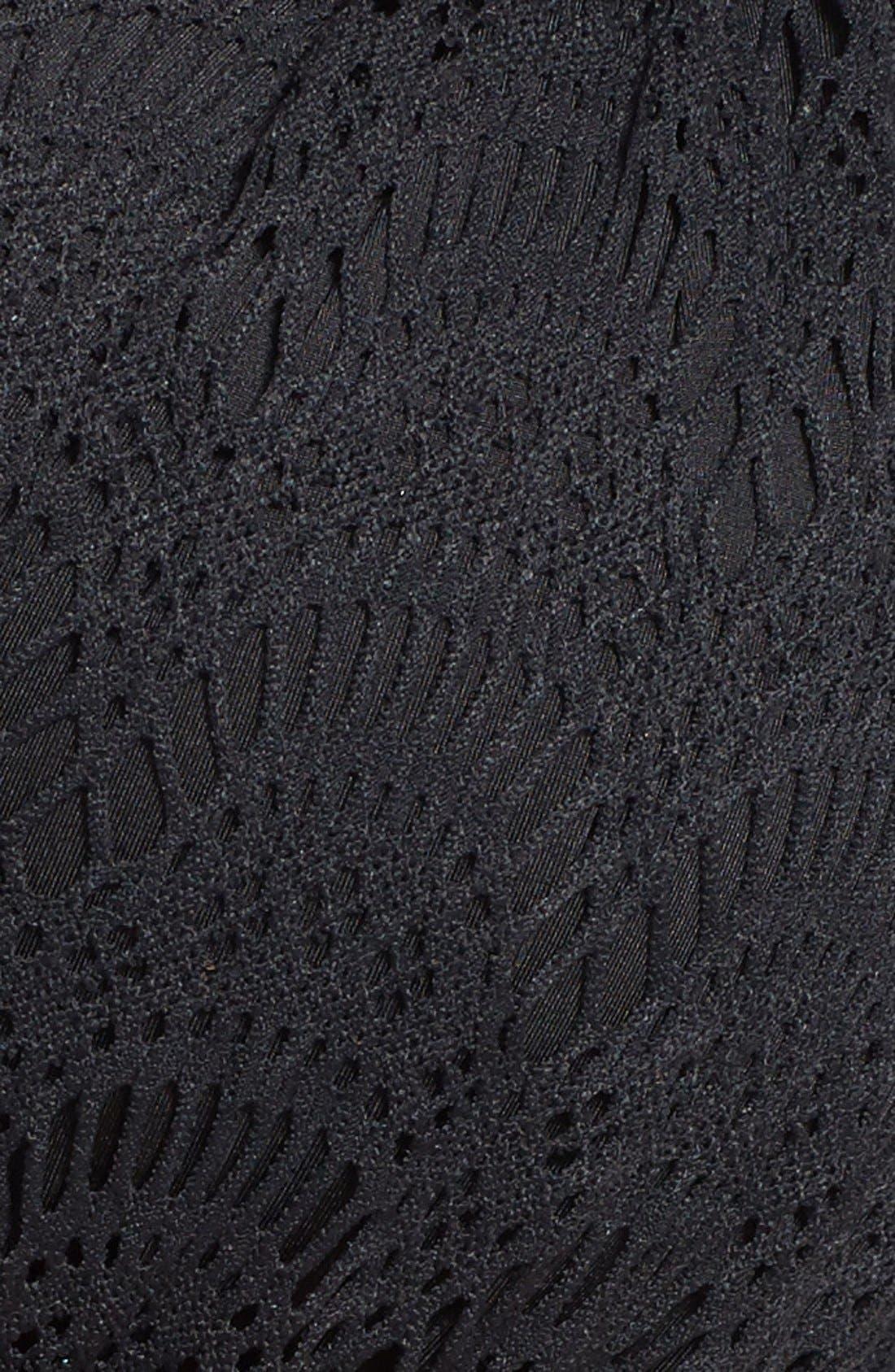 Alternate Image 5  - A.Ché 'Villa Sara Viona' Crochet Underwire Halter Bikini Top