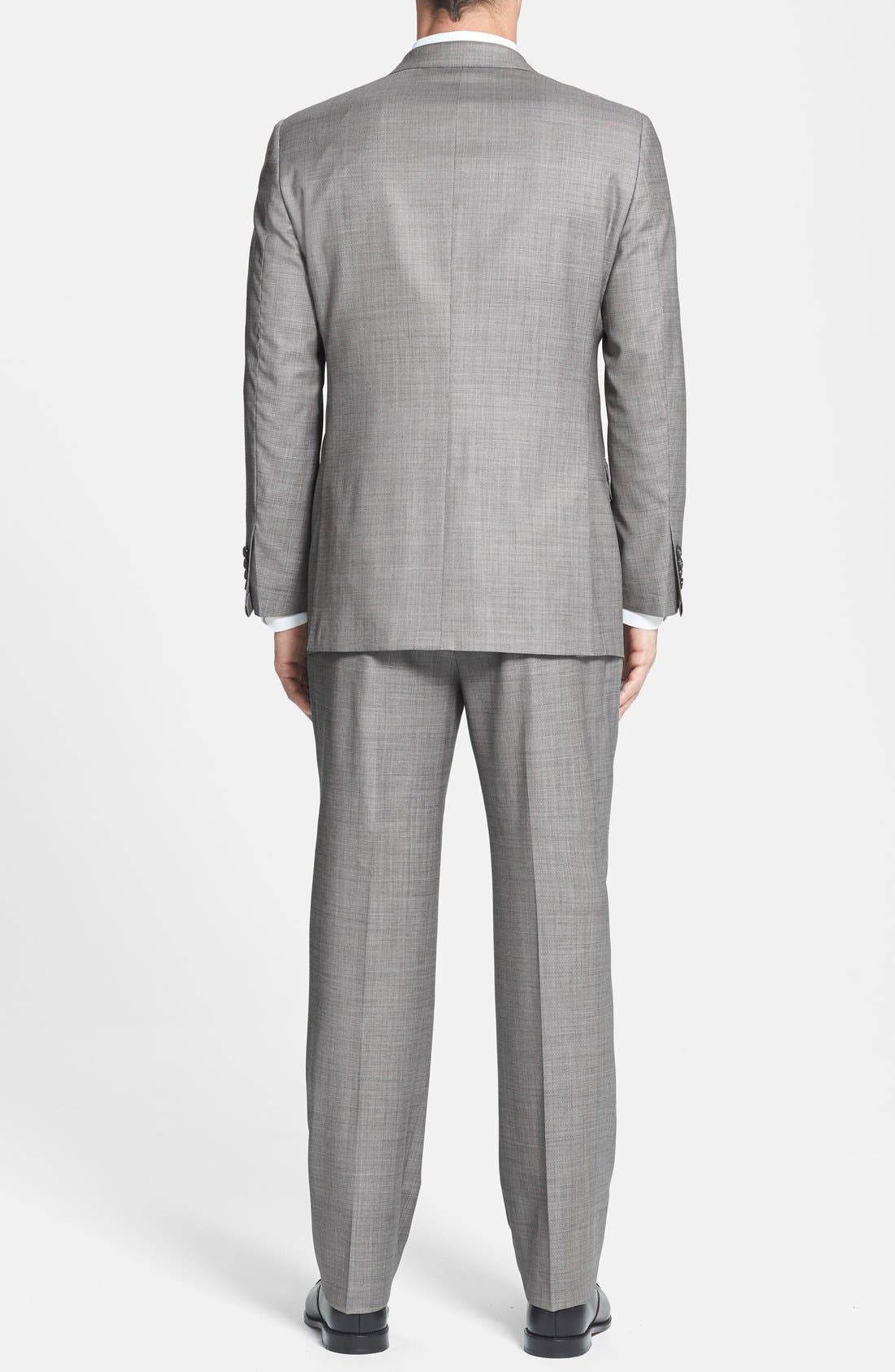 Alternate Image 2  - BEACON HIGH LOW MOHAIR 2BTN SUIT