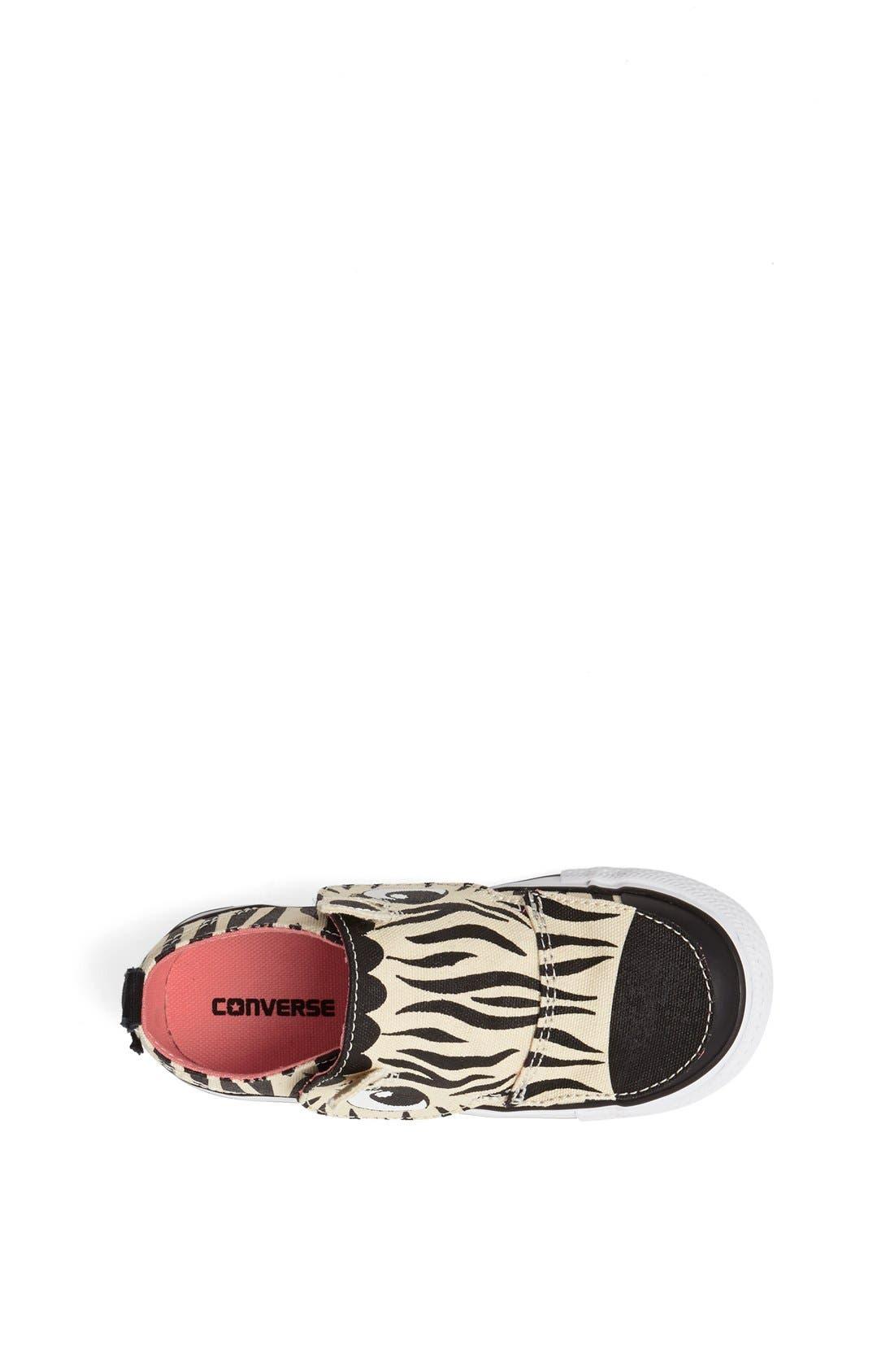 Alternate Image 3  - Converse 'No Problem' Zebra Face Sneaker (Baby, Walker & Toddler)