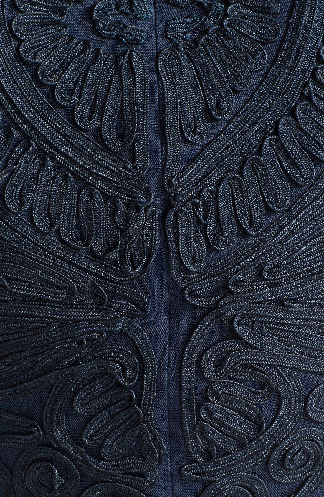 Alternate Image 4  - JS Collections Soutache Dress (Regular & Petite)