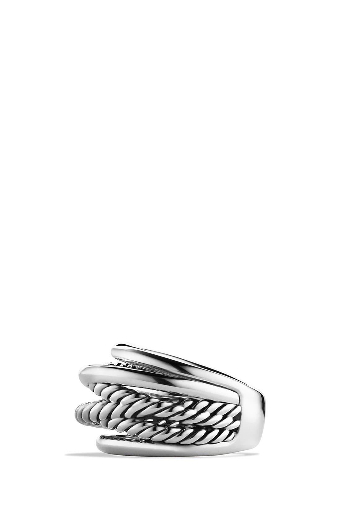 Alternate Image 3  - David Yurman 'Crossover' Narrow Ring