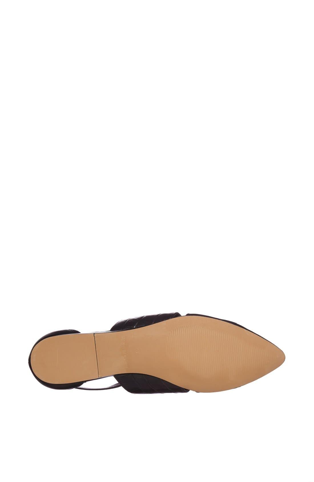 Alternate Image 4  - Topshop 'Kinky' Pointy Toe Flat