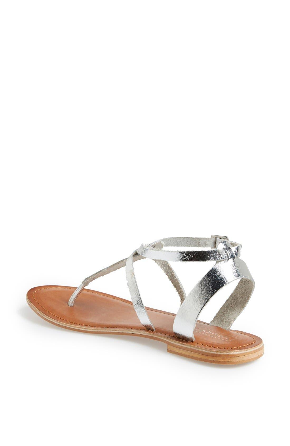 Alternate Image 2  - Topshop 'Horizon' Leather Sandal