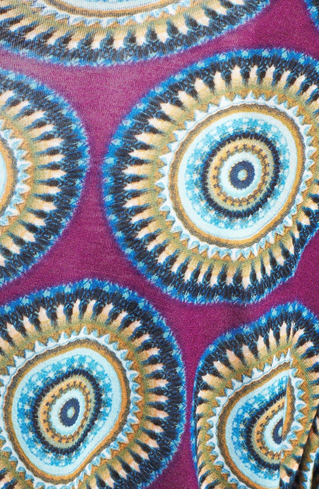 Alternate Image 3  - Loveappella Print Kimono Style Dress