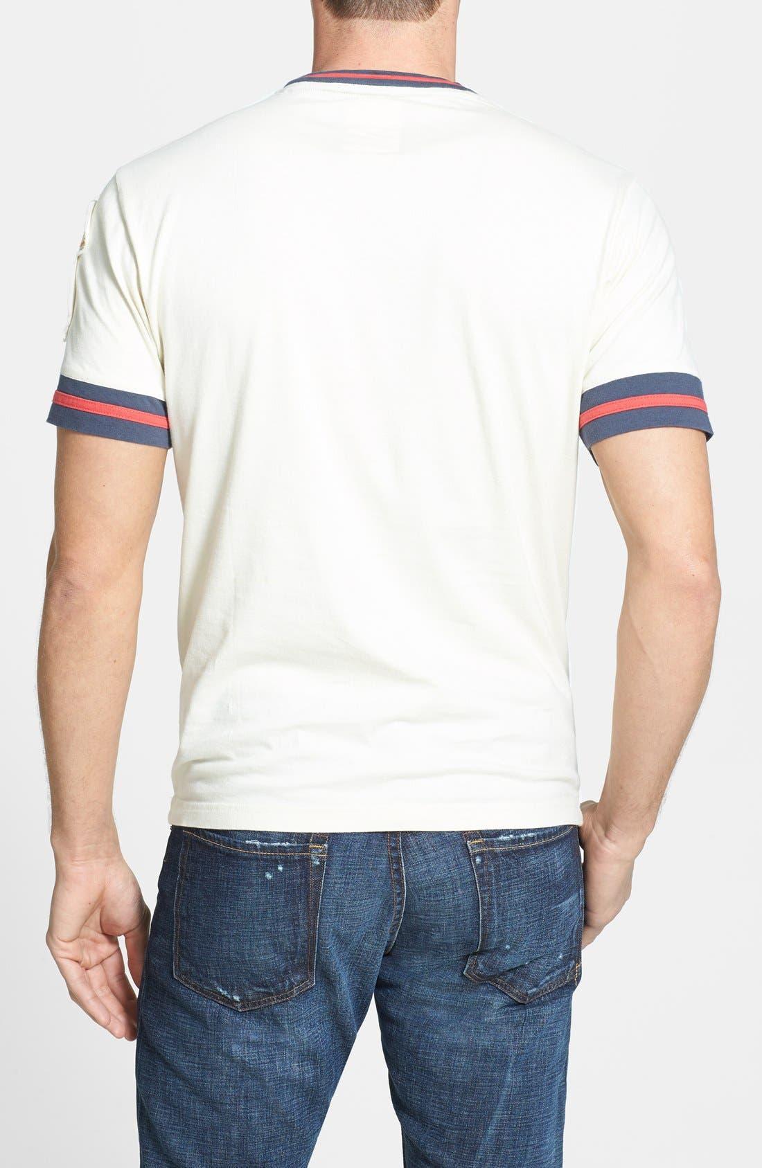 Alternate Image 2  - Red Jacket 'Los Angeles Angels' Trim Fit Ringer T-Shirt (Men)