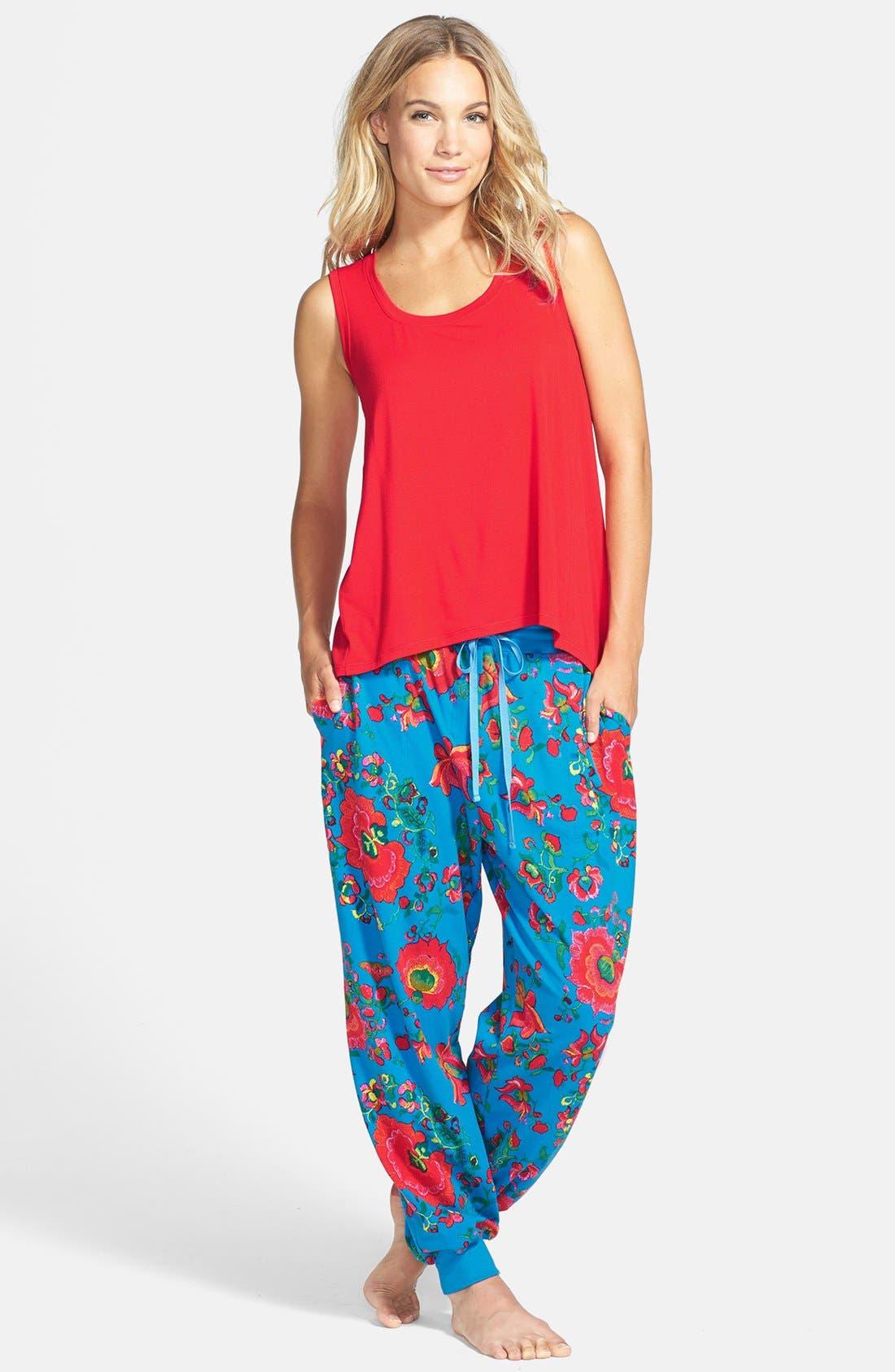 Alternate Image 3  - Josie 'Boho Chic' Slouchy Dorm Pants
