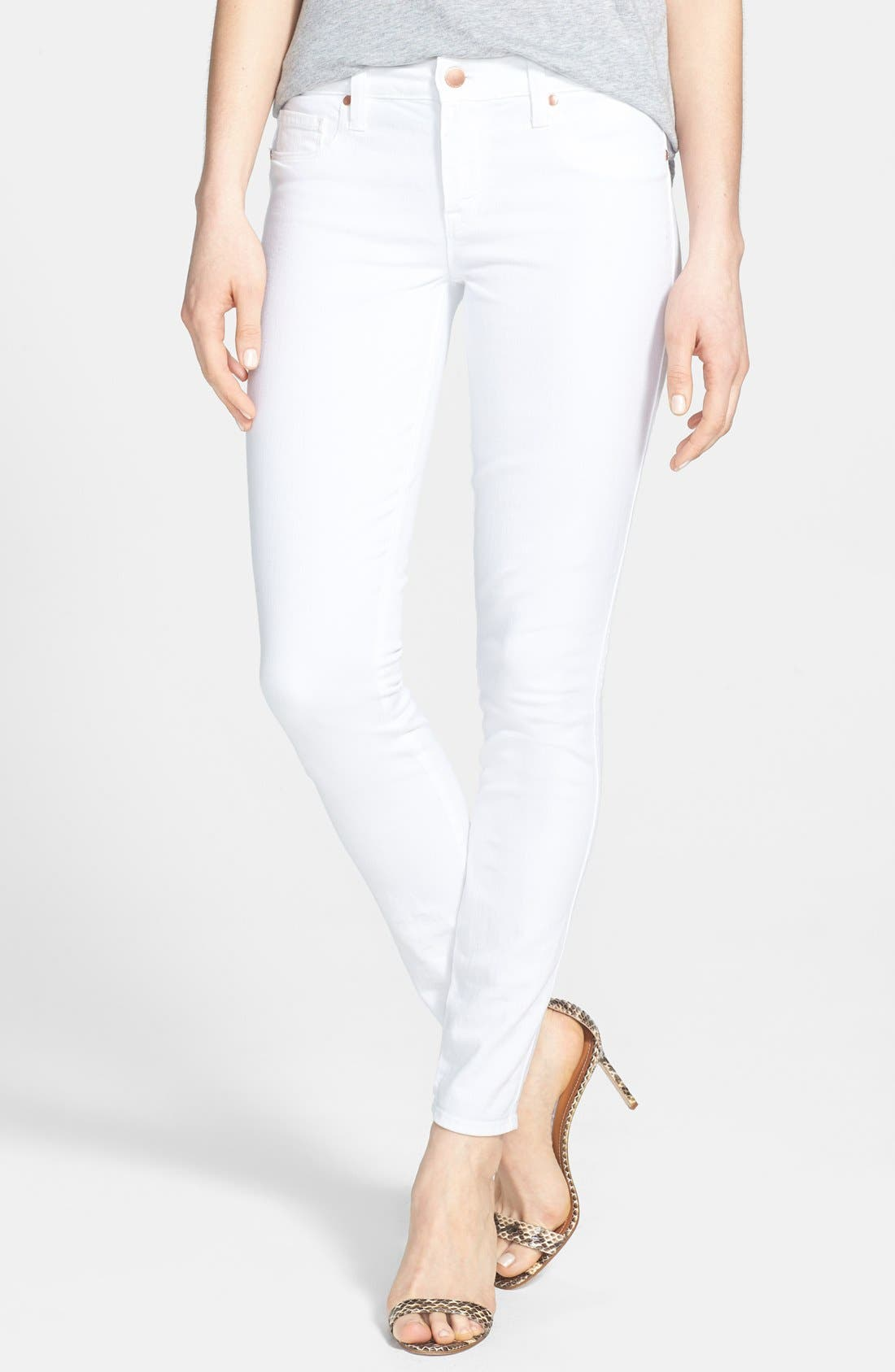 Alternate Image 1 Selected - Genetic 'Shya' Skinny Jeans (Pale)
