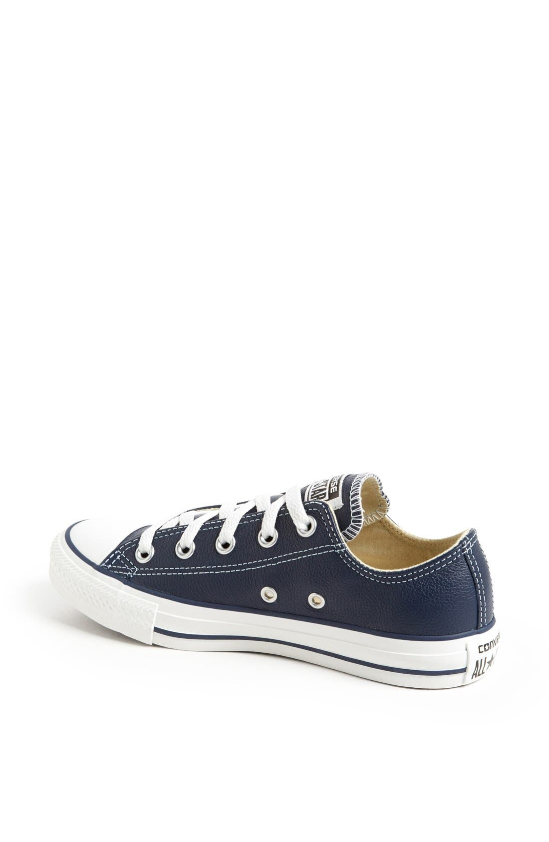 Alternate Image 2  - Converse Chuck Taylor® All Star® 'Ox' Leather Sneaker (Women)