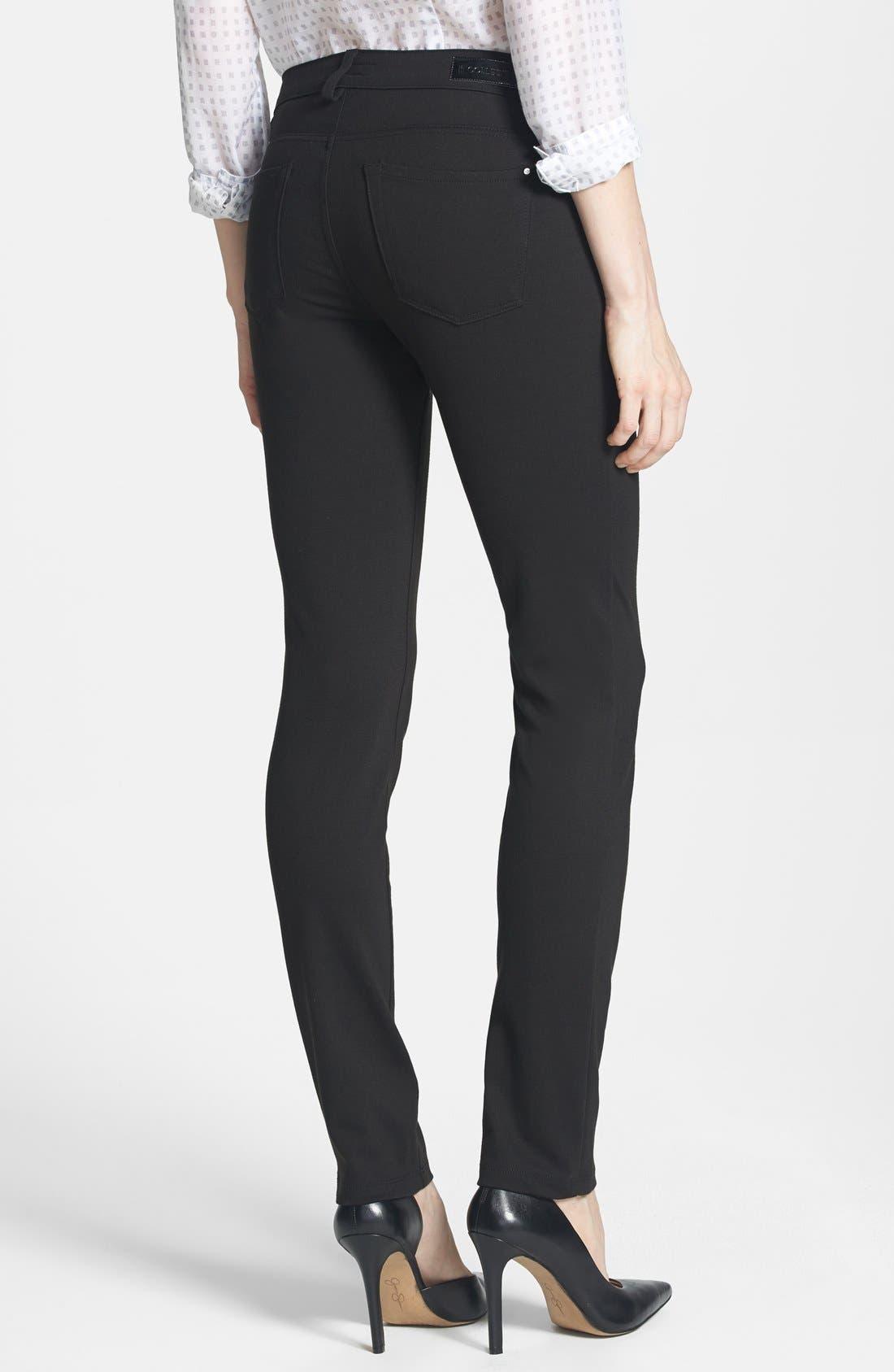 Alternate Image 2  - !iT 'Lauren' Skinny Ponte Pants