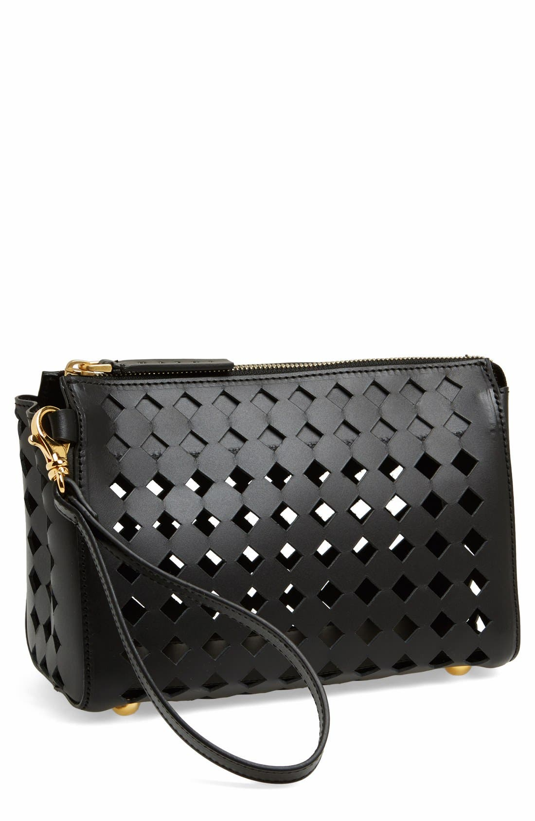 Alternate Image 1 Selected - Marni Cutout Leather Clutch
