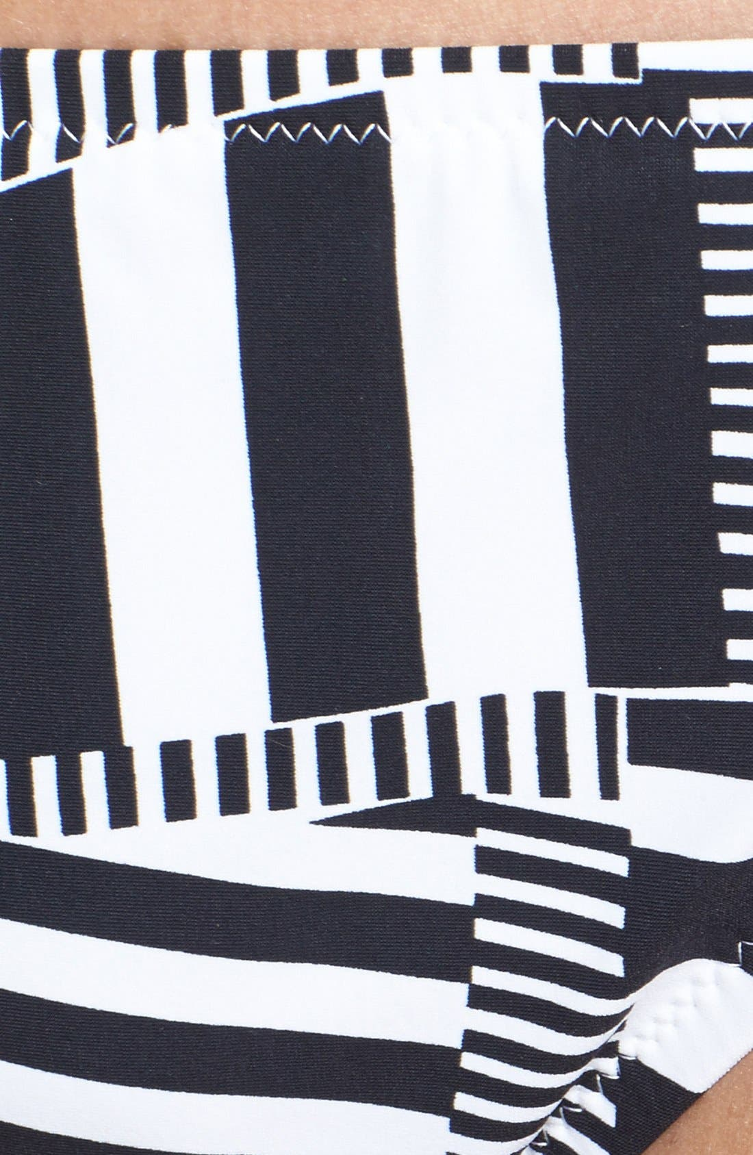 Alternate Image 5  - adidas 'Cut Stripe' Hipster Bikini Bottoms