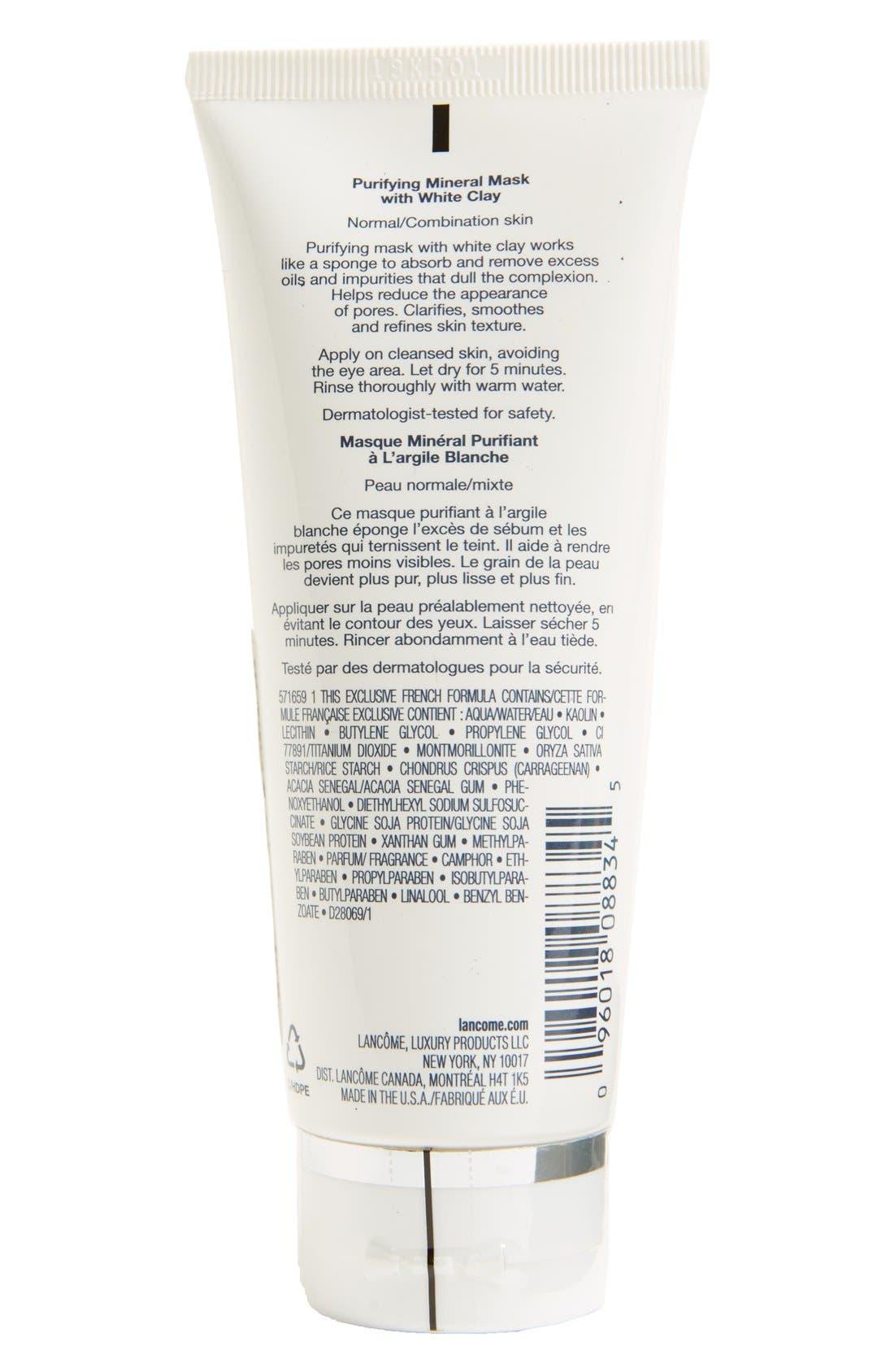 Alternate Image 3  - Lancôme 'Pure Empreinte Masque' Purifying Mineral Mask