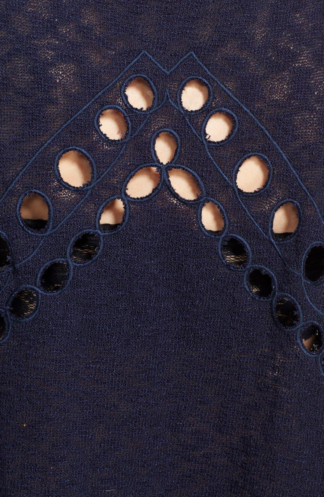 Alternate Image 3  - Free People 'Desert Wonder' Embroidered Eyelet Knit Tank