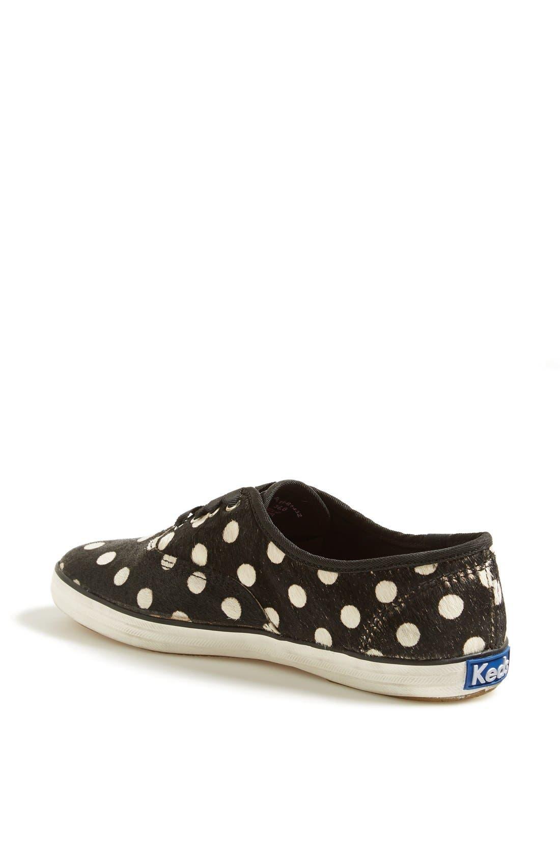 Alternate Image 2  - Keds® 'Champion Spur' Calf Hair Sneaker (Online Only) (Women)
