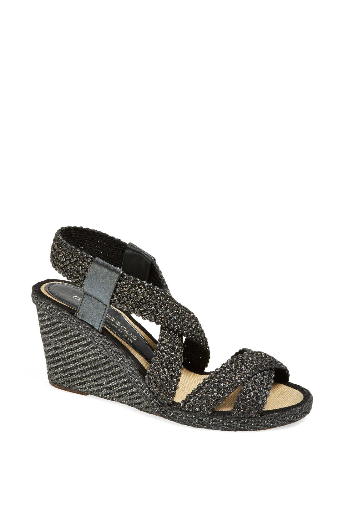 Alternate Image 1 Selected - André Assous 'Patty-A' Wedge Sandal