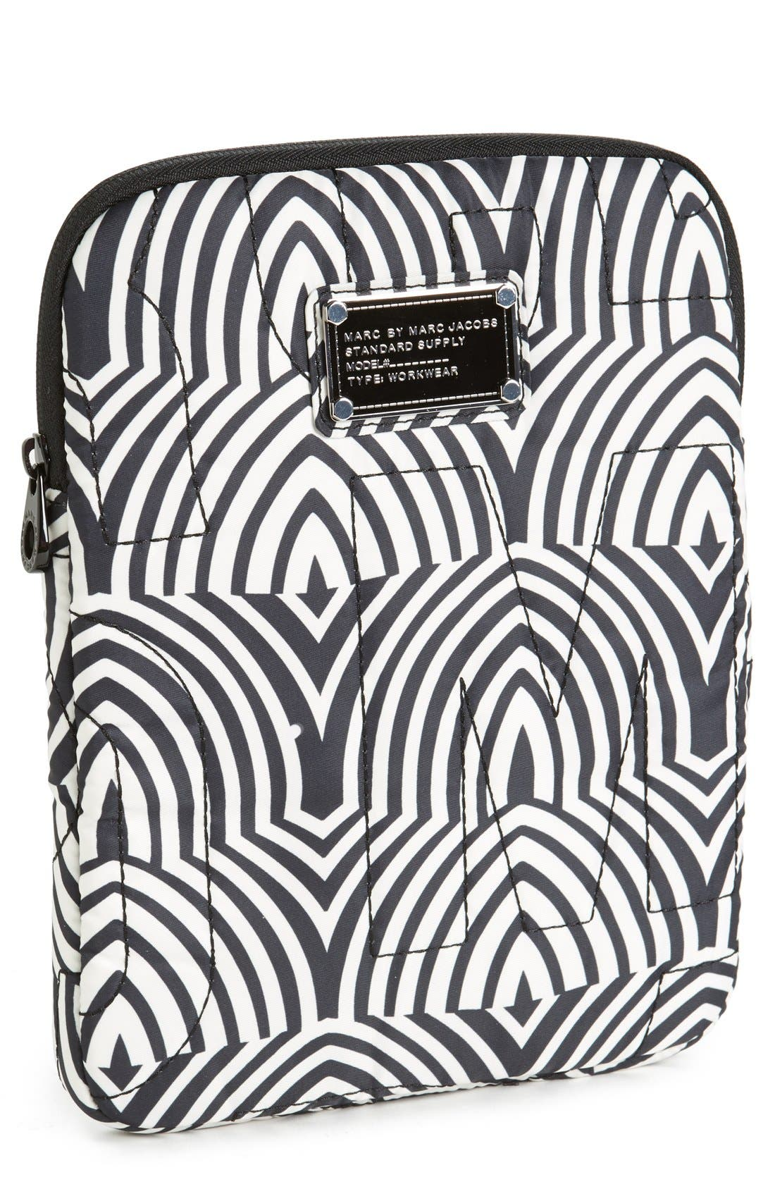 Main Image - MARC BY MARC JACOBS 'Pretty Nylon - Gamma Ray' iPad Case