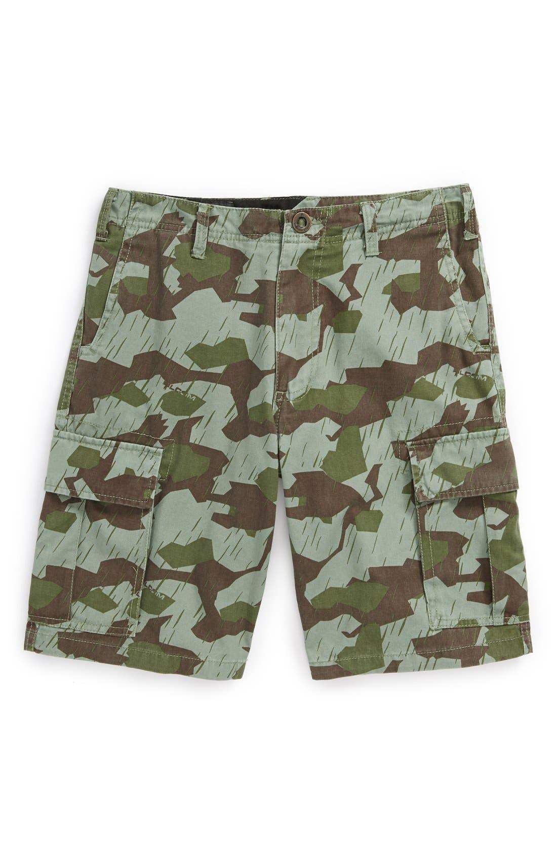 Main Image - Volcom 'Slargo' Cargo Shorts (Little Boys & Big Boys)