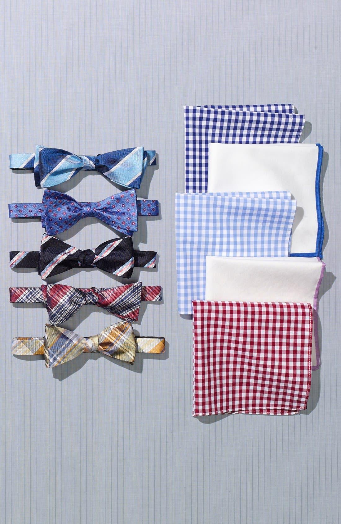 Alternate Image 4  - John W. Nordstrom® Silk Bow Tie