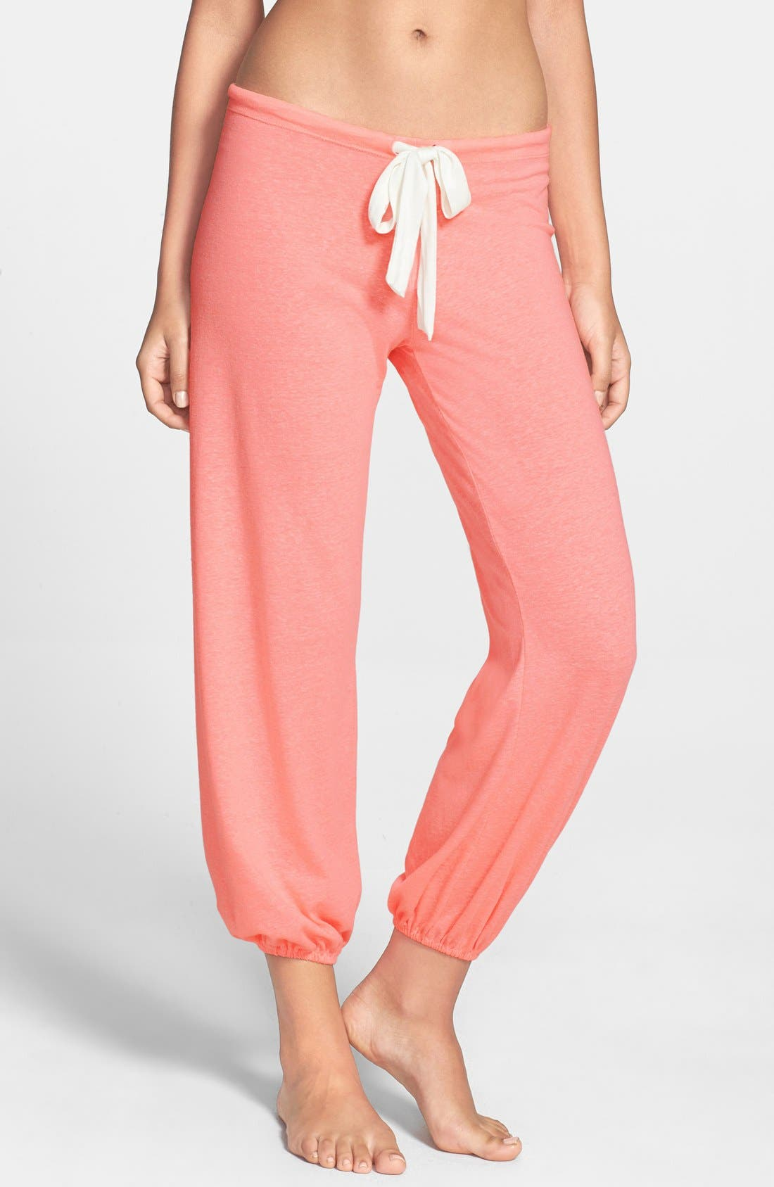 Main Image - Eberjey Crop Knit Lounge Pants
