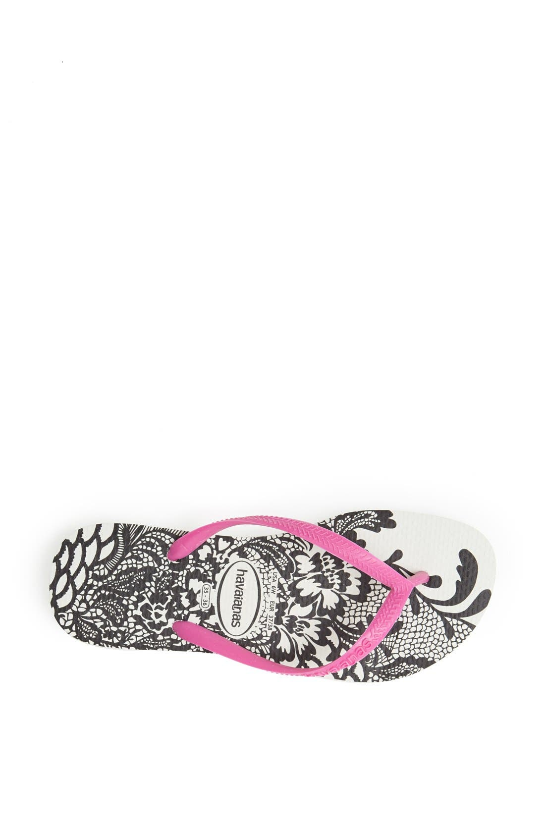 Alternate Image 3  - Havaianas 'Slim Lace' Flip Flop (Women)