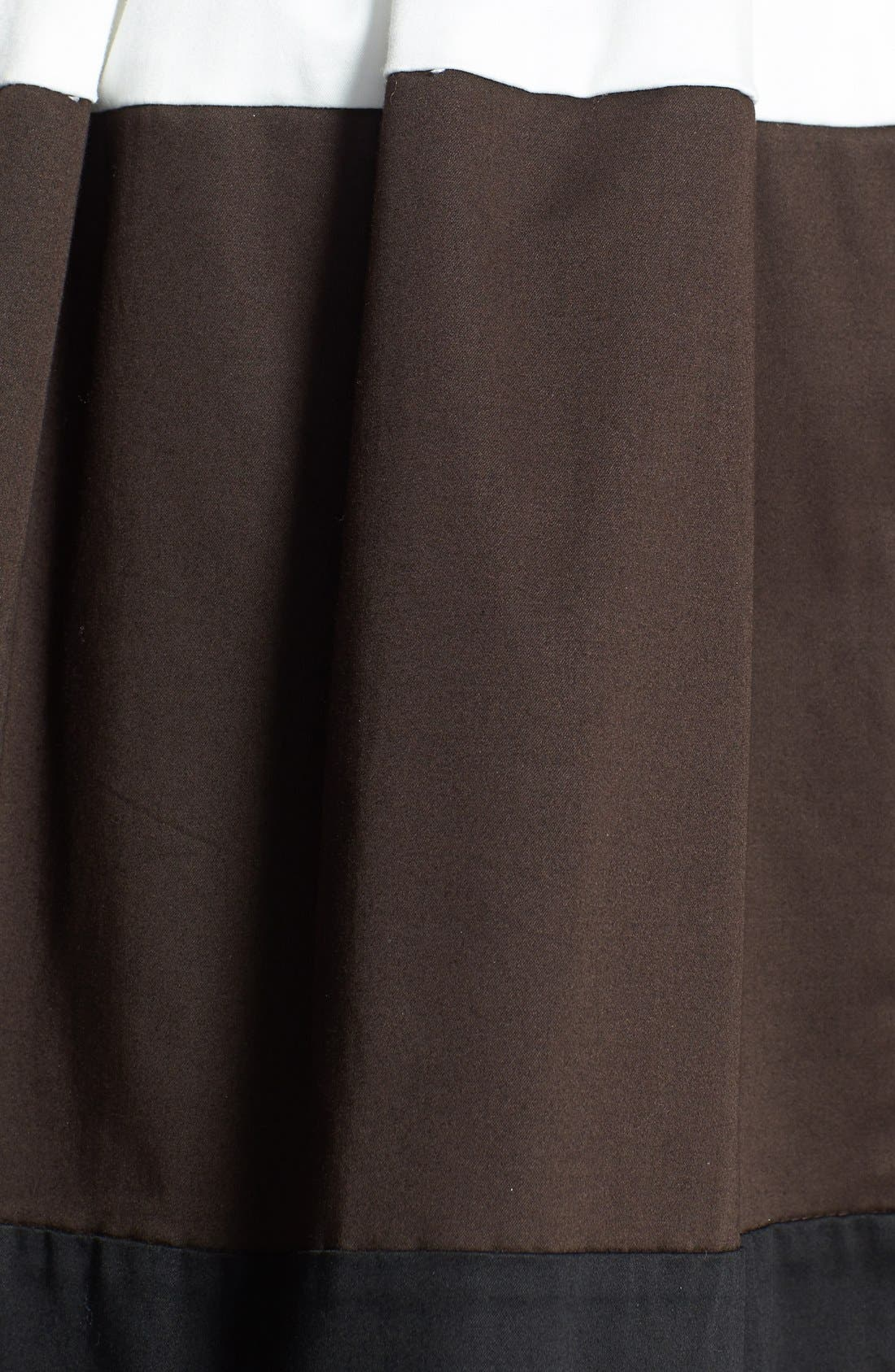 Alternate Image 3  - kate spade new york 'coreen' colorblock skirt