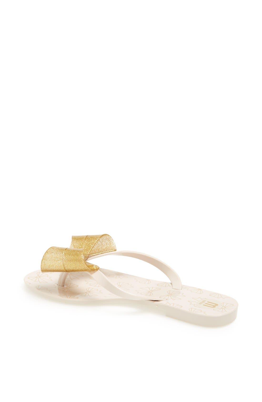 Alternate Image 2  - Melissa 'Harmonic IV' Jelly Thong Sandal