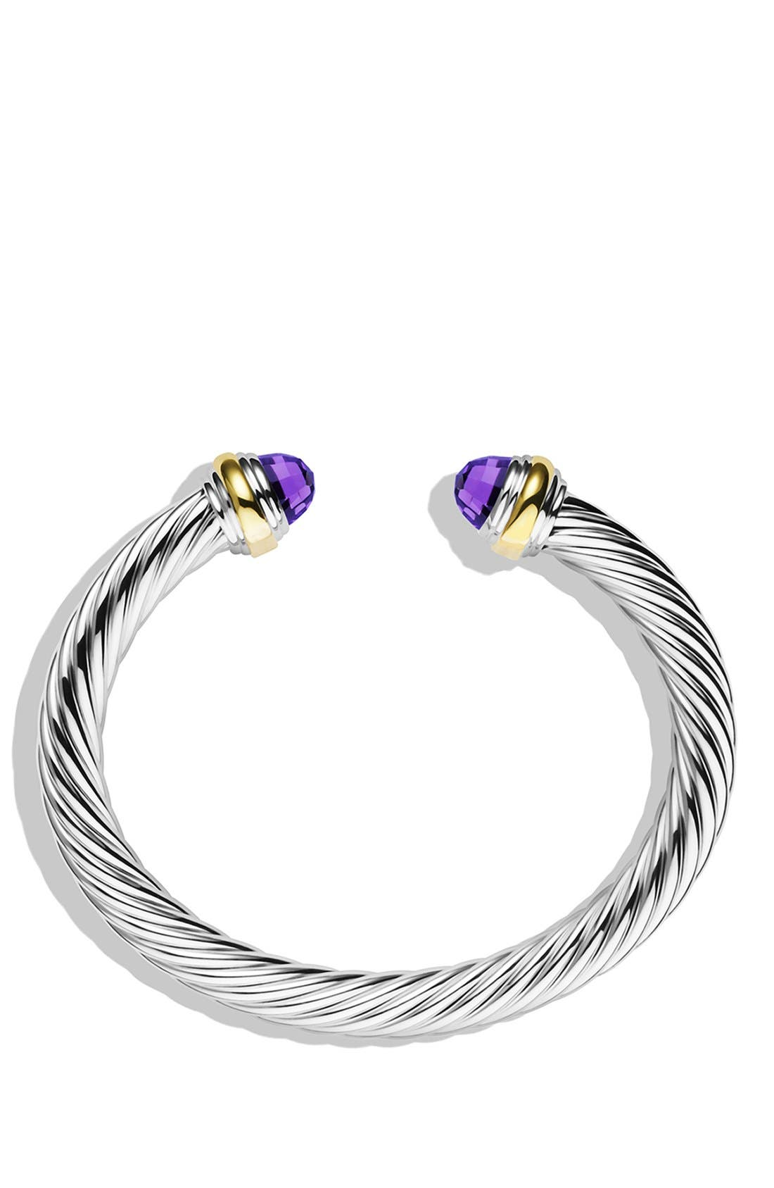 Alternate Image 2  - David Yurman Cable Classics Bracelet with Semiprecious Stones