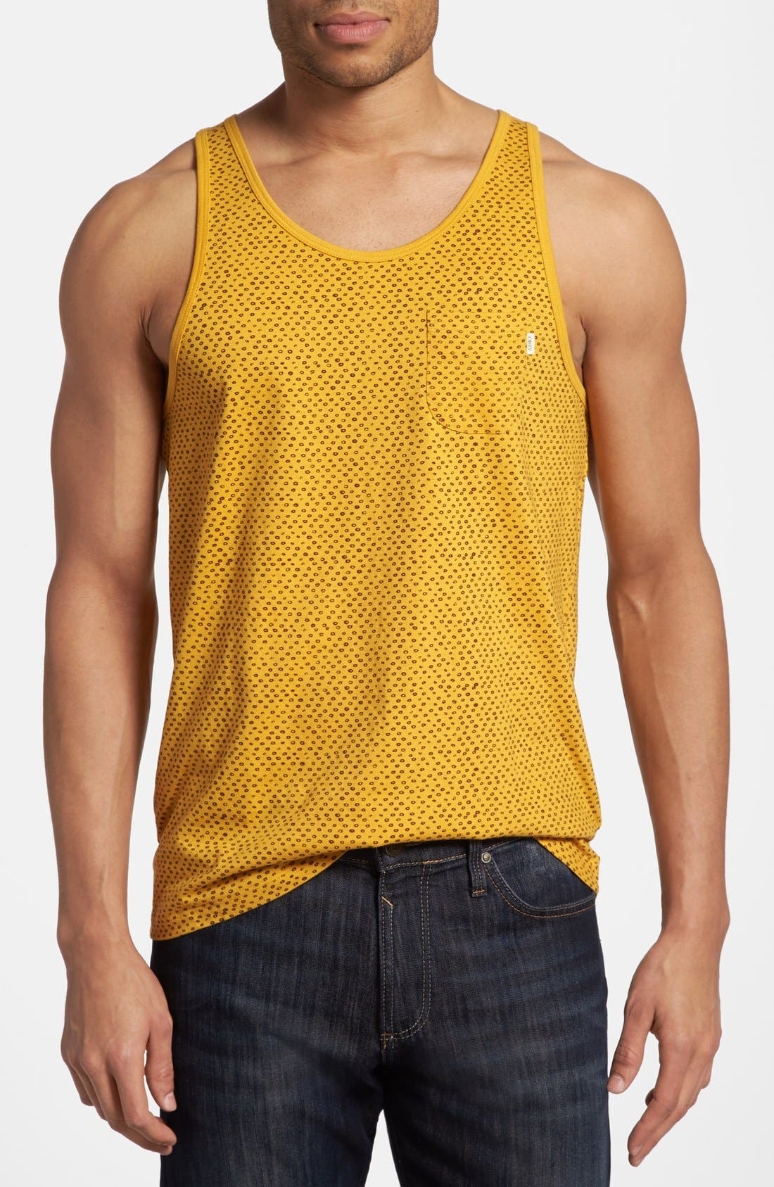 Alternate Image 1 Selected - Obey 'Dotter' Dot Print Tank Top