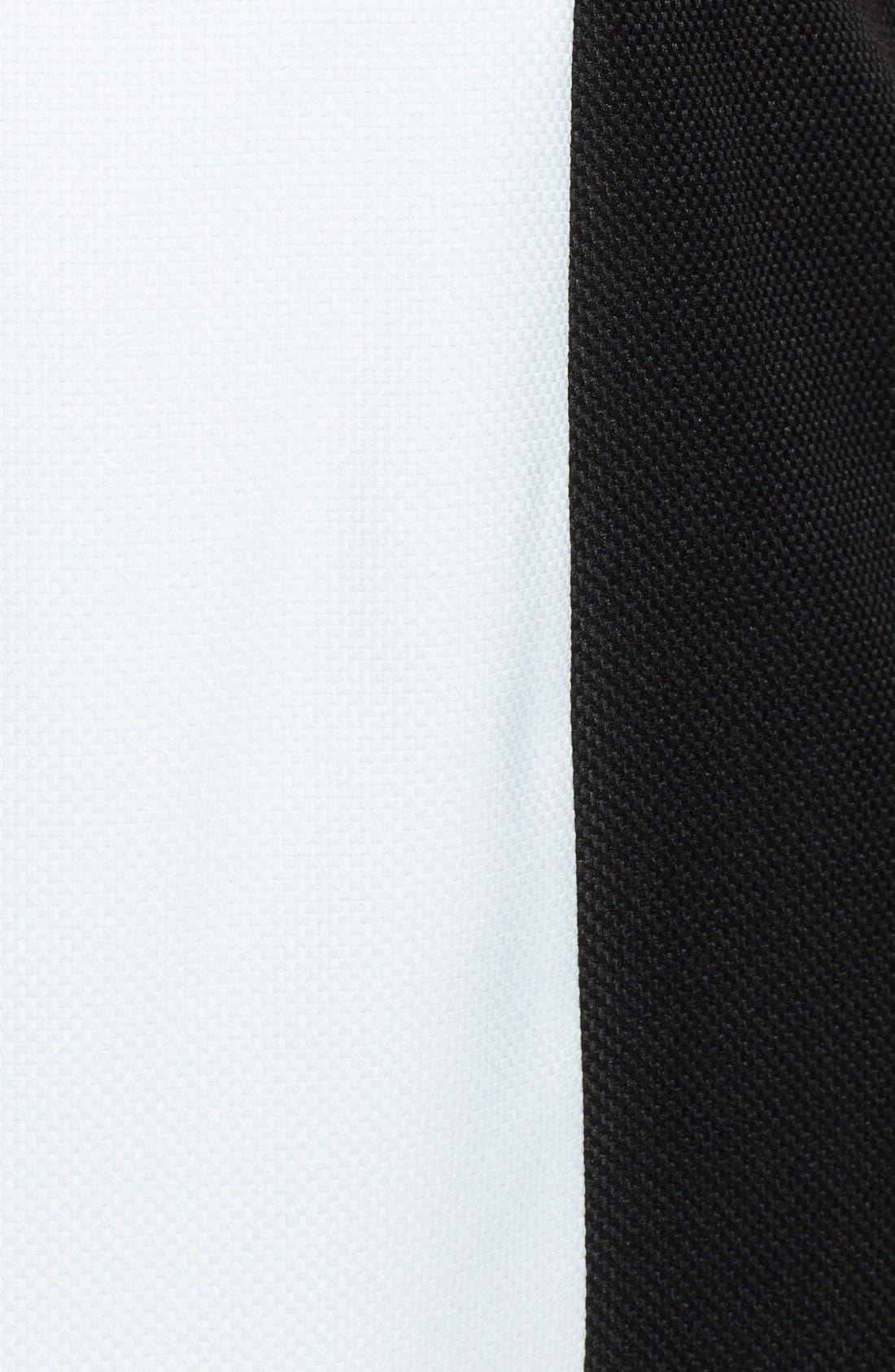 Alternate Image 3  - Tahari by ASL Colorblock Split V-Neck Sheath Dress (Plus Size)