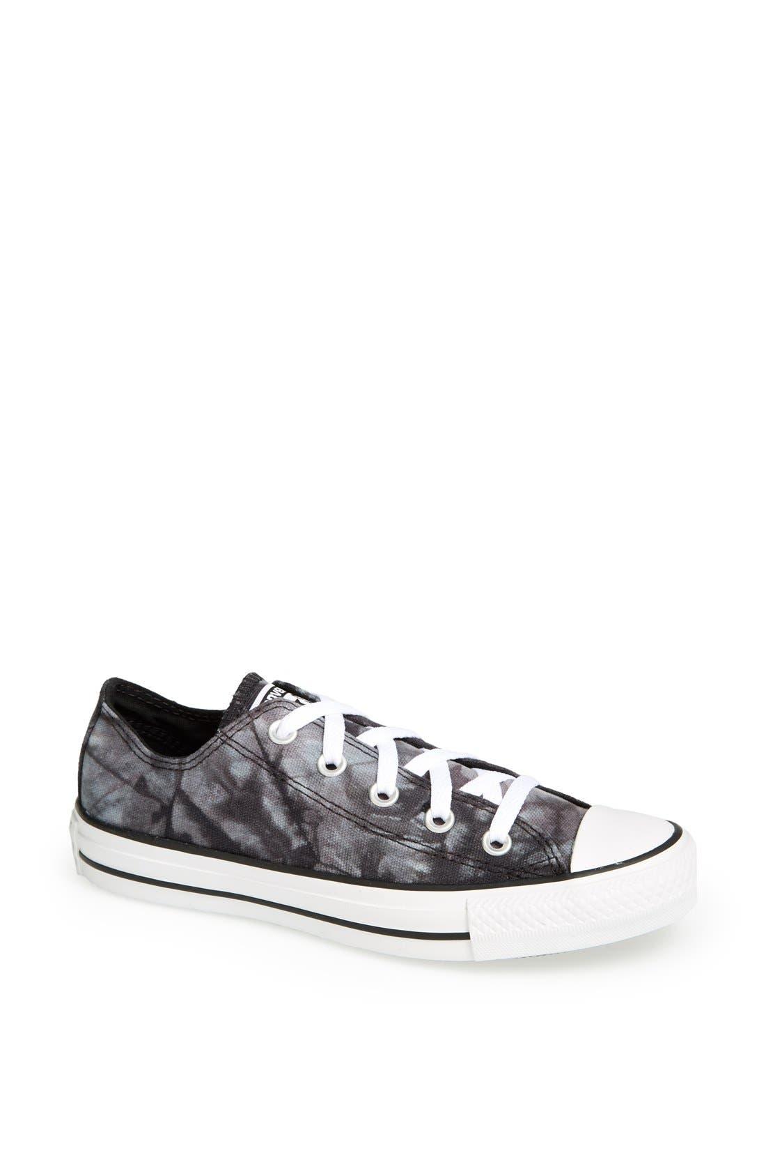 Alternate Image 1 Selected - Converse Chuck Taylor® All Star® 'Ox' Tie Dye Low Top Sneaker (Women)
