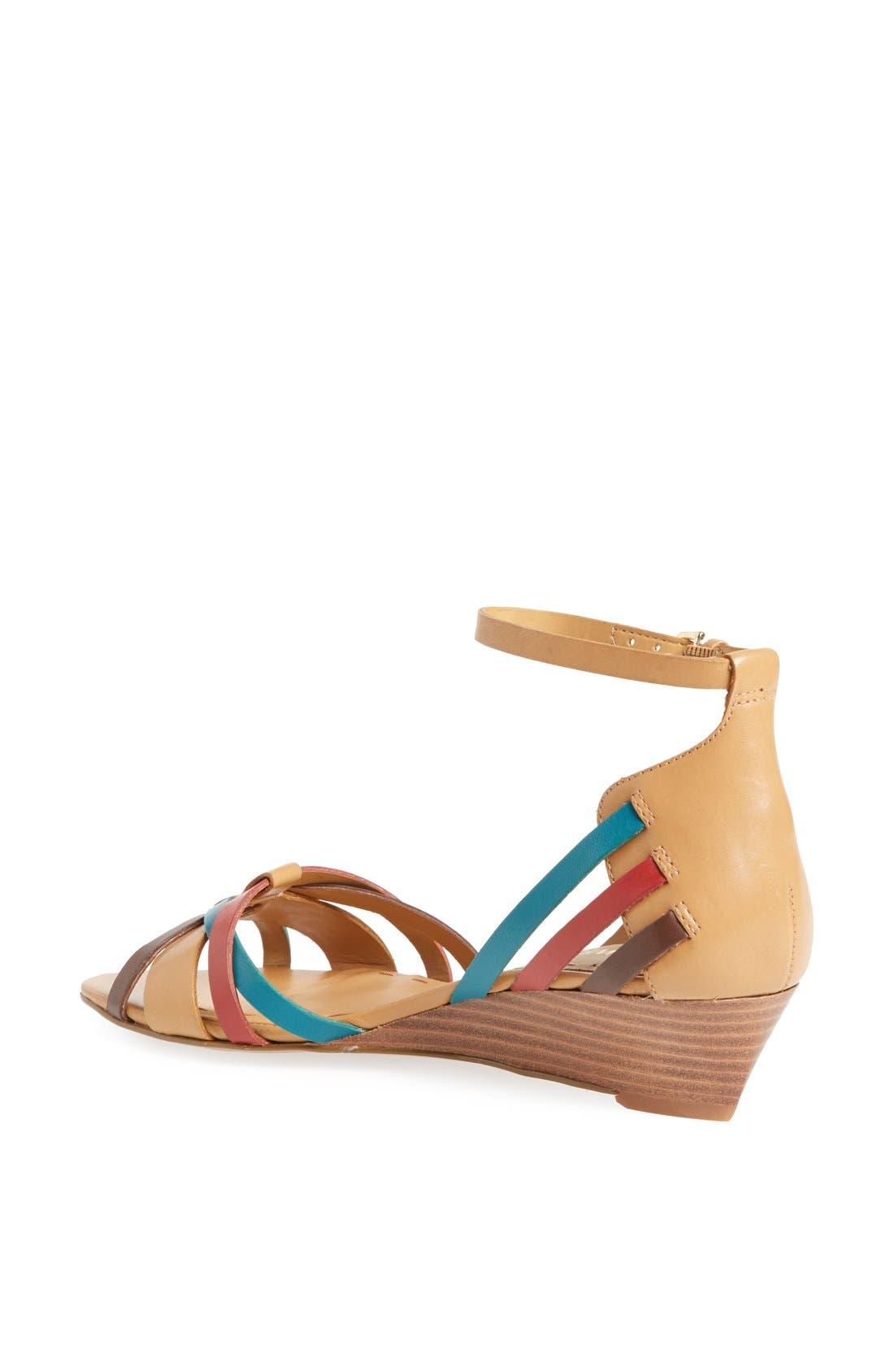 Alternate Image 2  - Nine West 'Villea' Ankle Strap Wedge Sandal