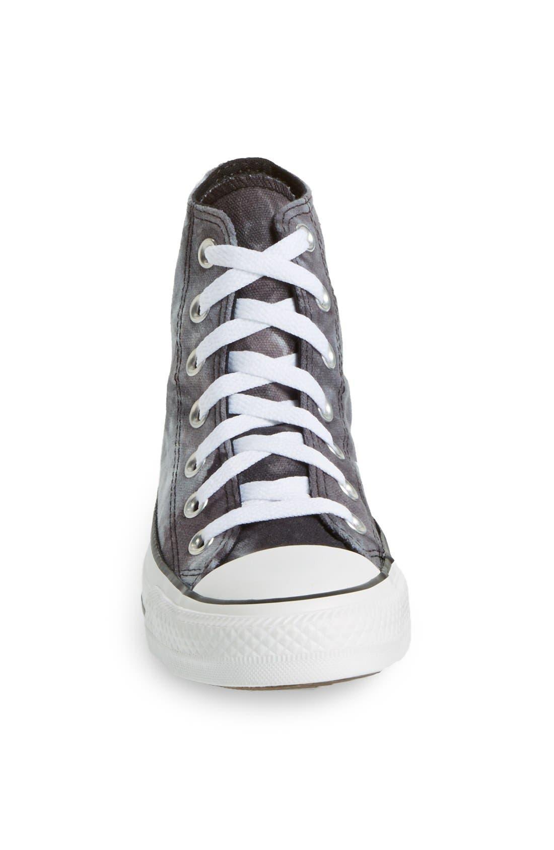 Alternate Image 4  - Converse Chuck Taylor® All Star® 'Tie Dye' High Top Sneaker (Women)