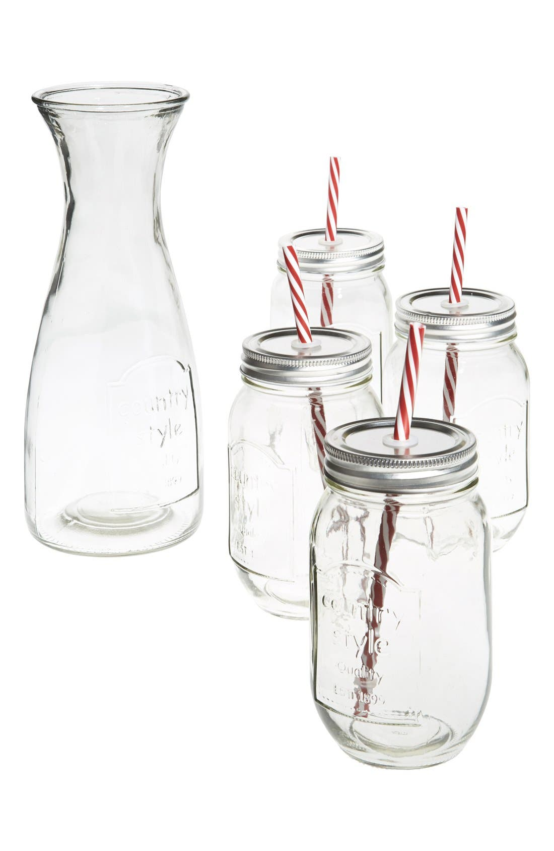 Main Image - Circle Glass Country Beverage Set
