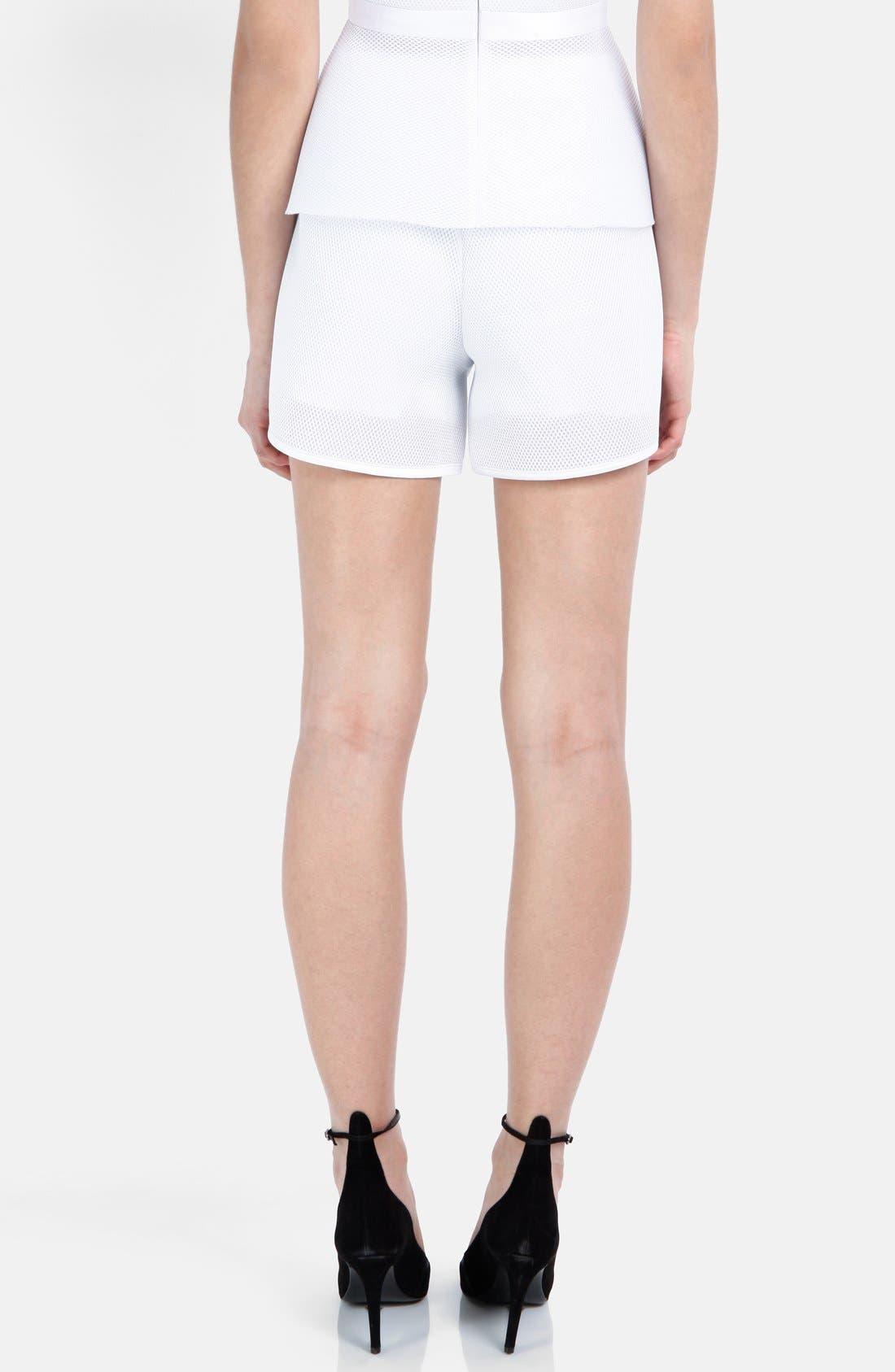 Alternate Image 2  - maje Mesh Shorts