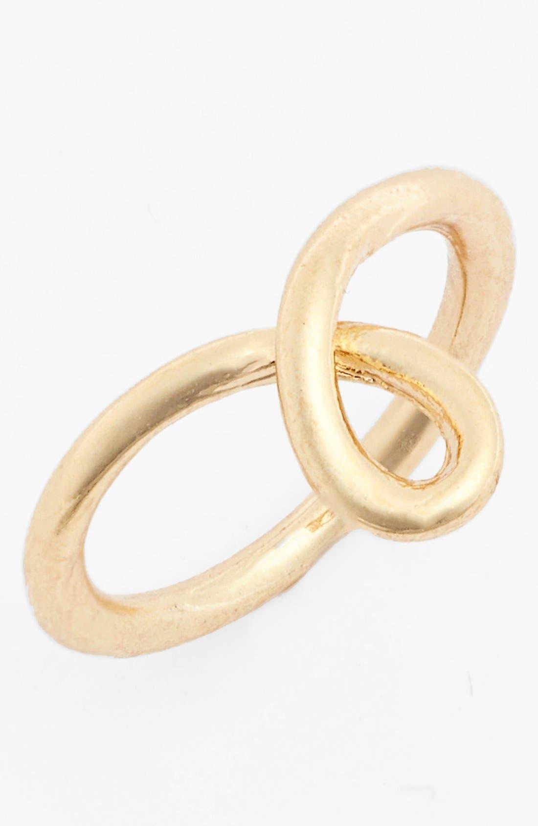 Main Image - Topshop Curved Midi Ring