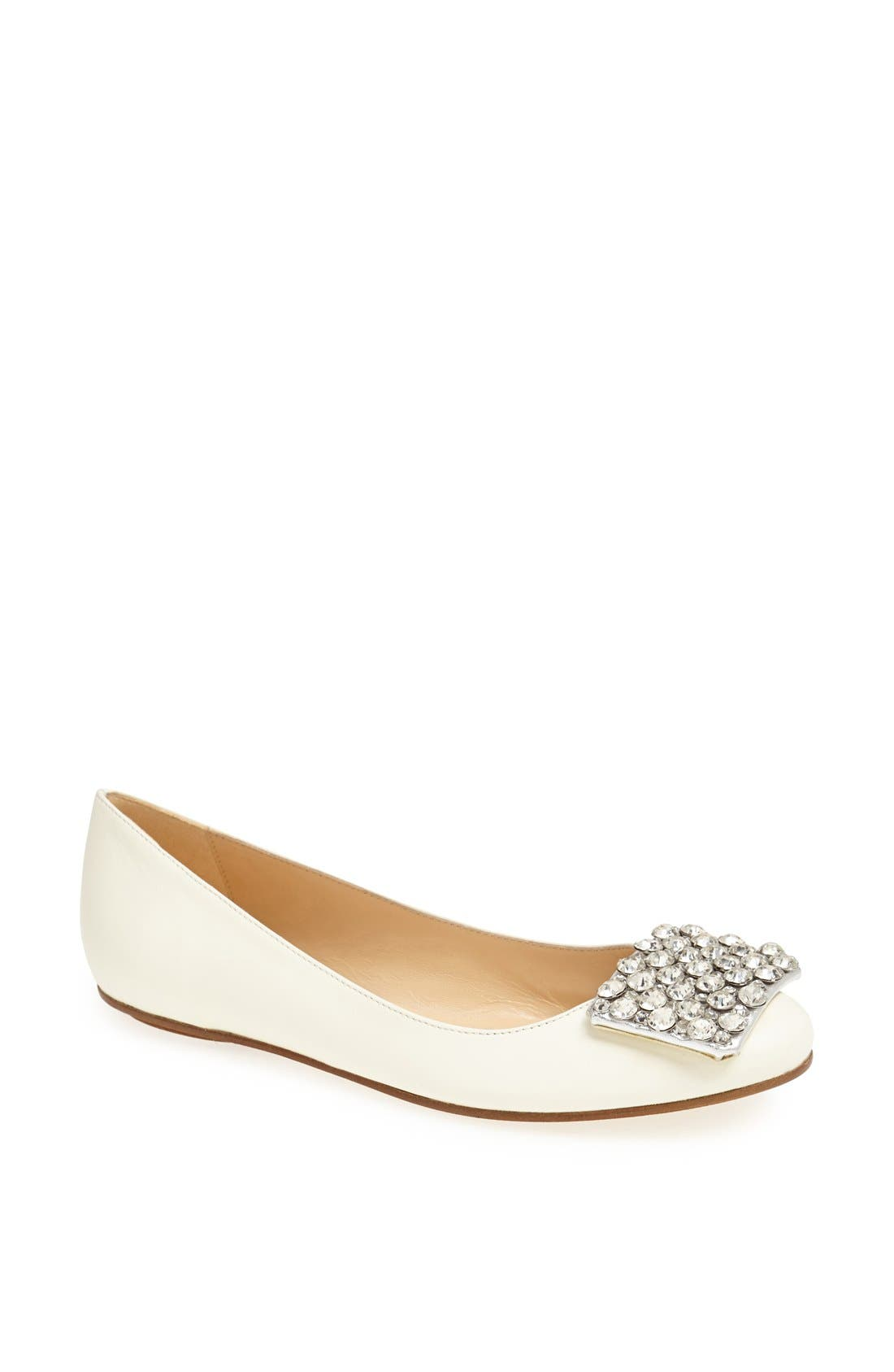 Alternate Image 1 Selected - kate spade new york 'brilliant' nappa leather flat